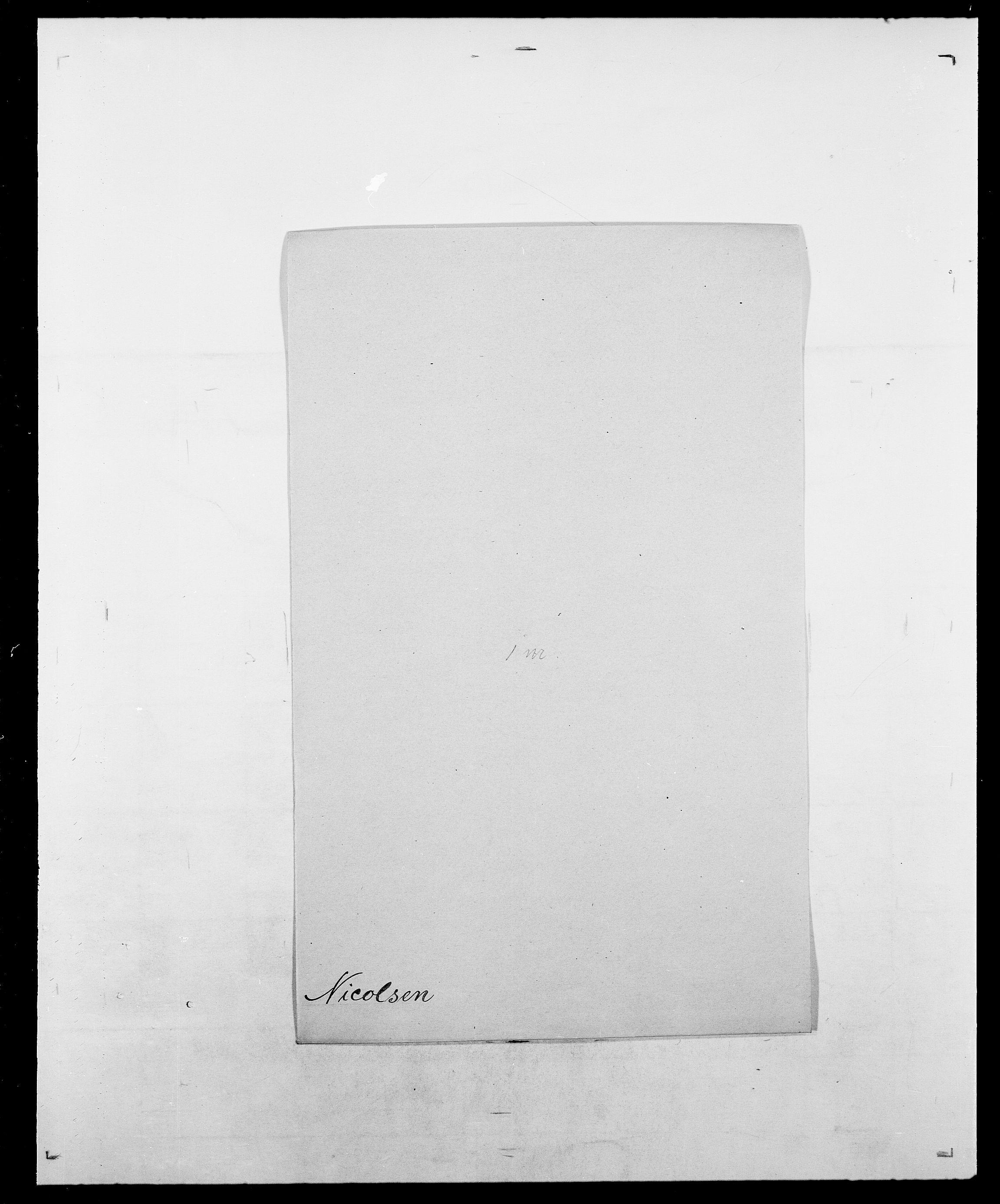 SAO, Delgobe, Charles Antoine - samling, D/Da/L0028: Naaden - Nøvik, s. 204