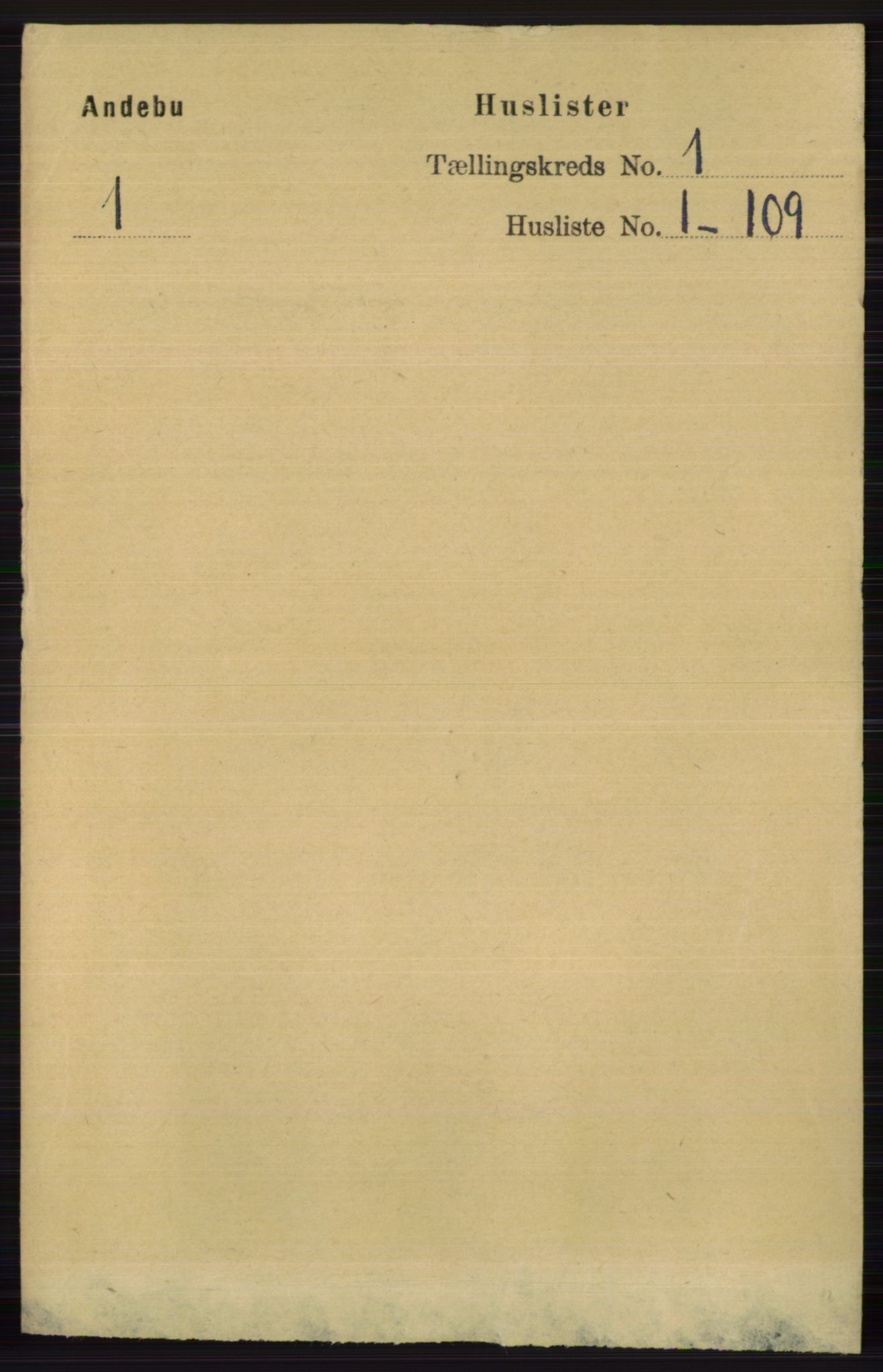 RA, Folketelling 1891 for 0719 Andebu herred, 1891, s. 27