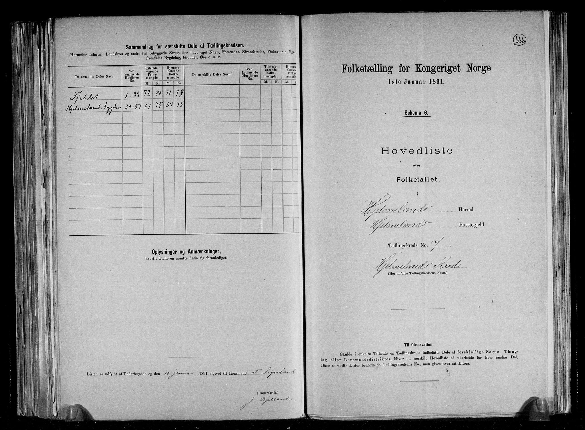 RA, Folketelling 1891 for 1133 Hjelmeland herred, 1891, s. 17