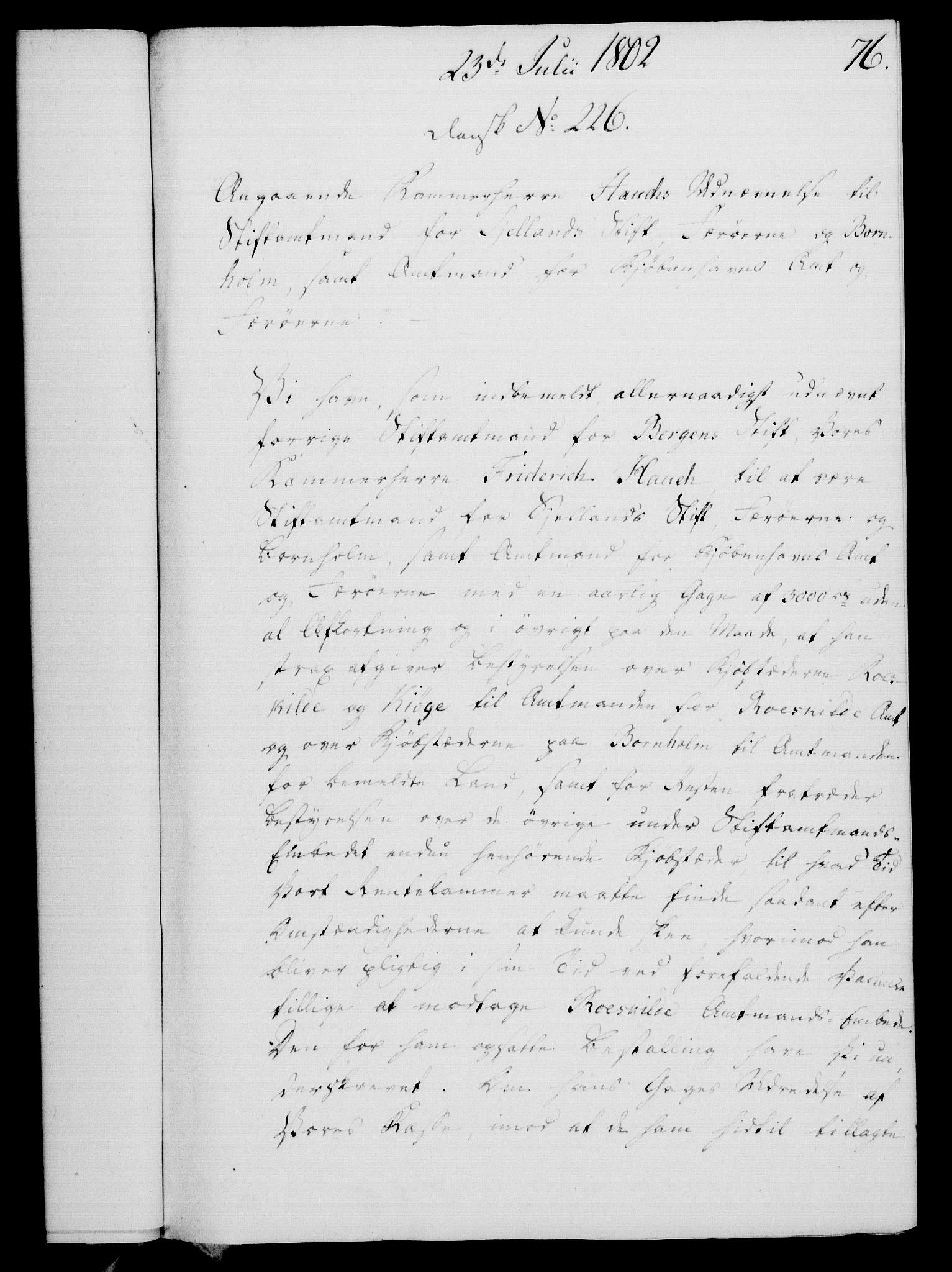 RA, Rentekammeret, Kammerkanselliet, G/Gf/Gfa/L0084: Norsk relasjons- og resolusjonsprotokoll (merket RK 52.84), 1802, s. 480