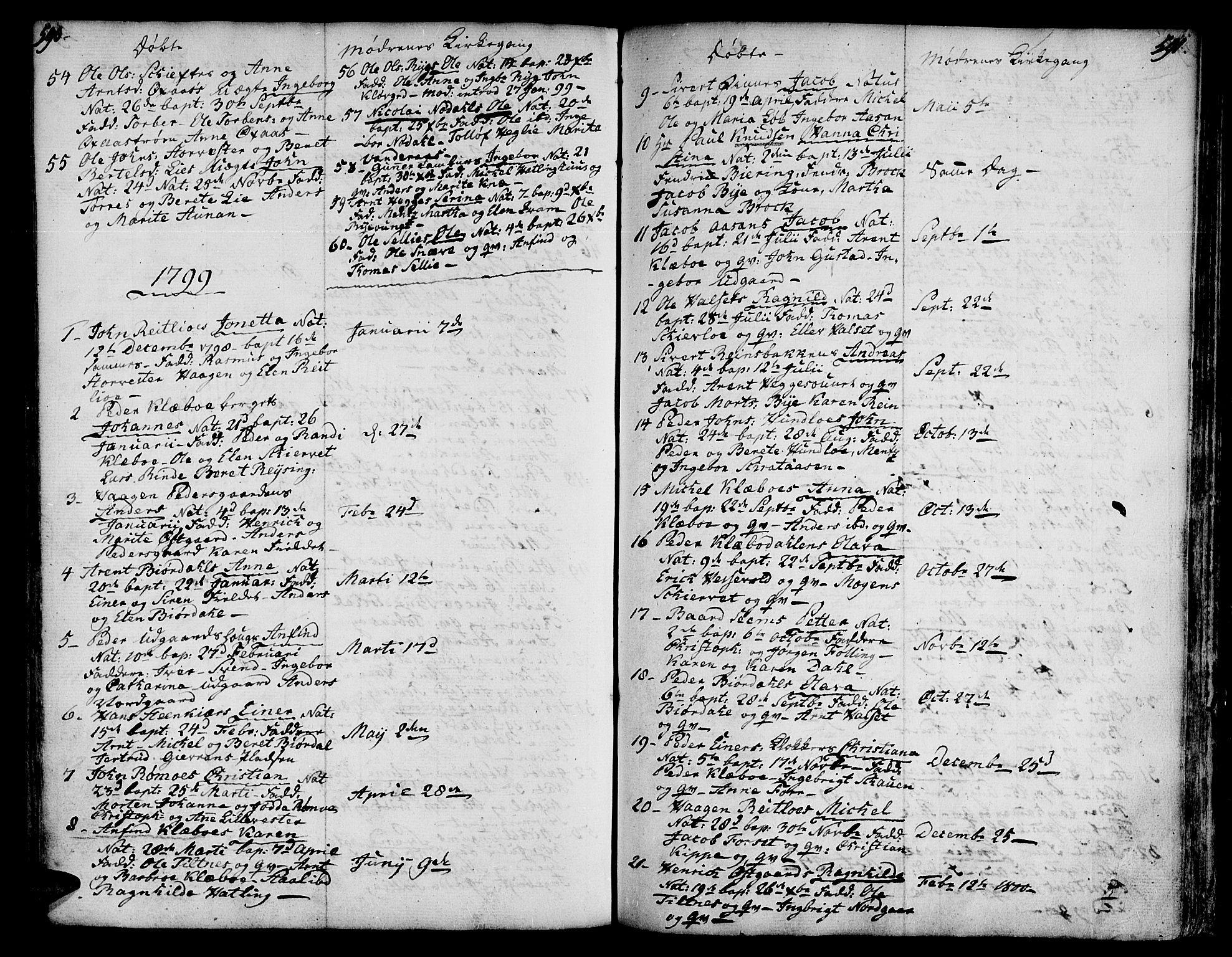 SAT, Ministerialprotokoller, klokkerbøker og fødselsregistre - Nord-Trøndelag, 746/L0440: Ministerialbok nr. 746A02, 1760-1815, s. 590-591