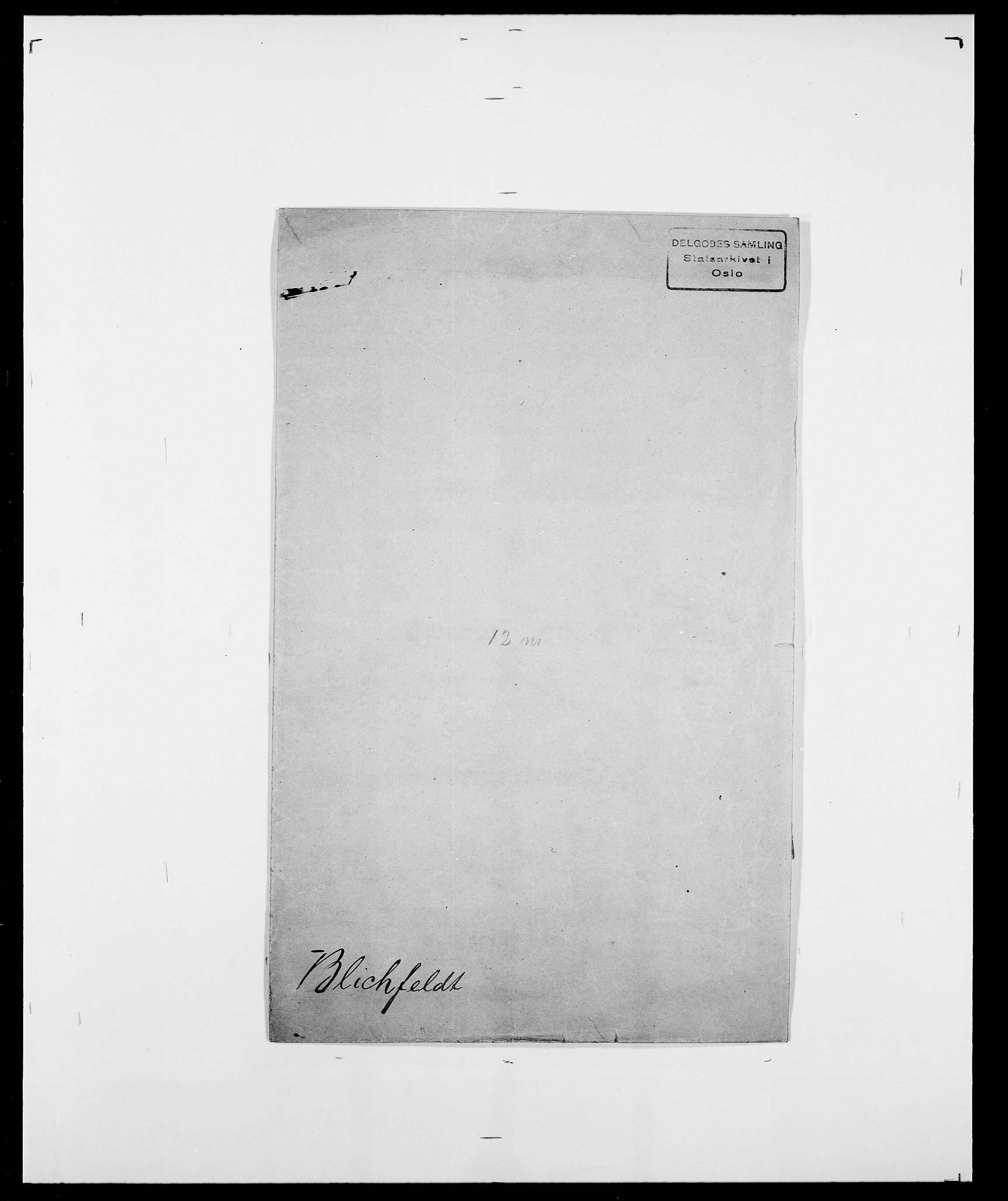 SAO, Delgobe, Charles Antoine - samling, D/Da/L0004: Bergendahl - Blære, s. 587