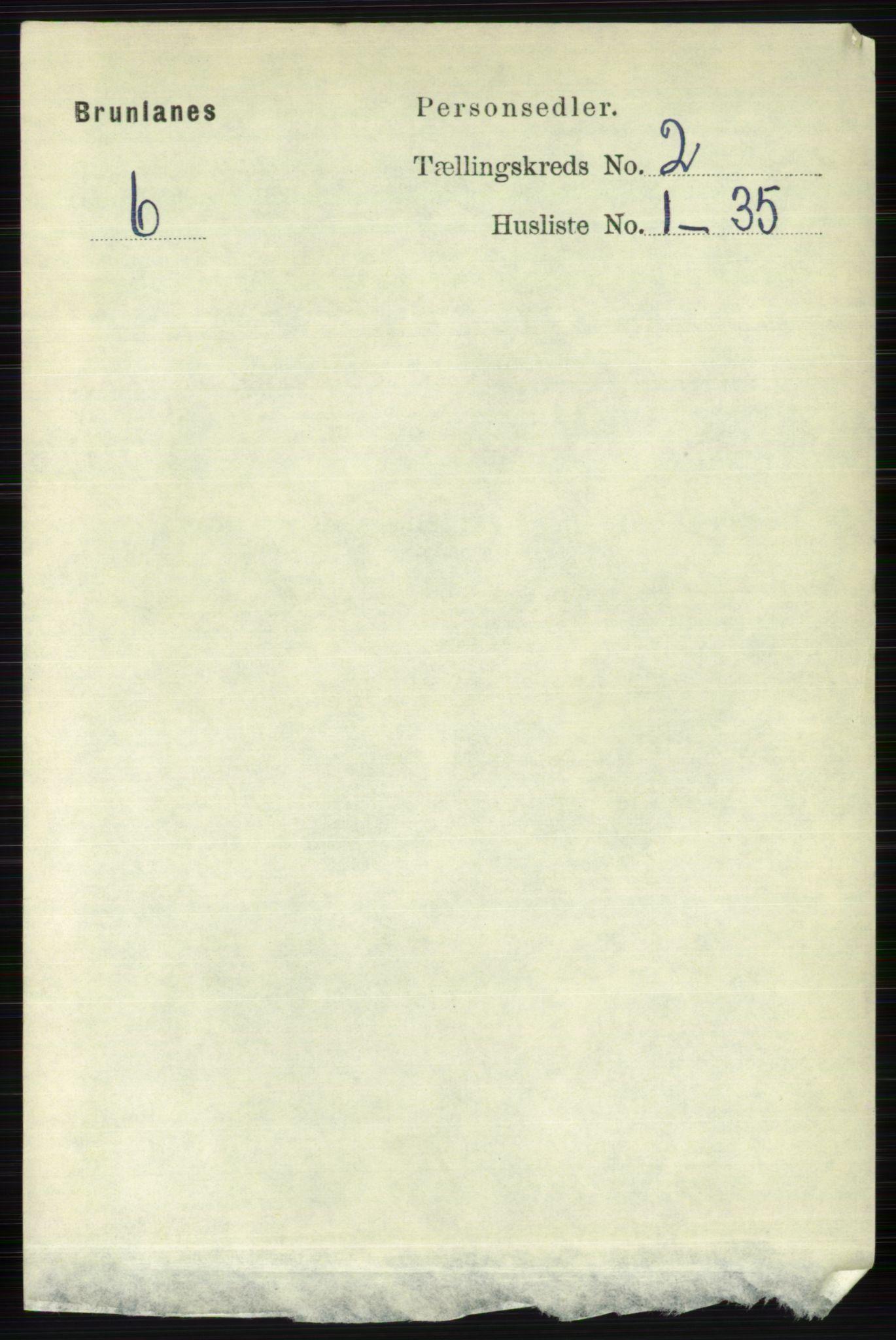 RA, Folketelling 1891 for 0726 Brunlanes herred, 1891, s. 676