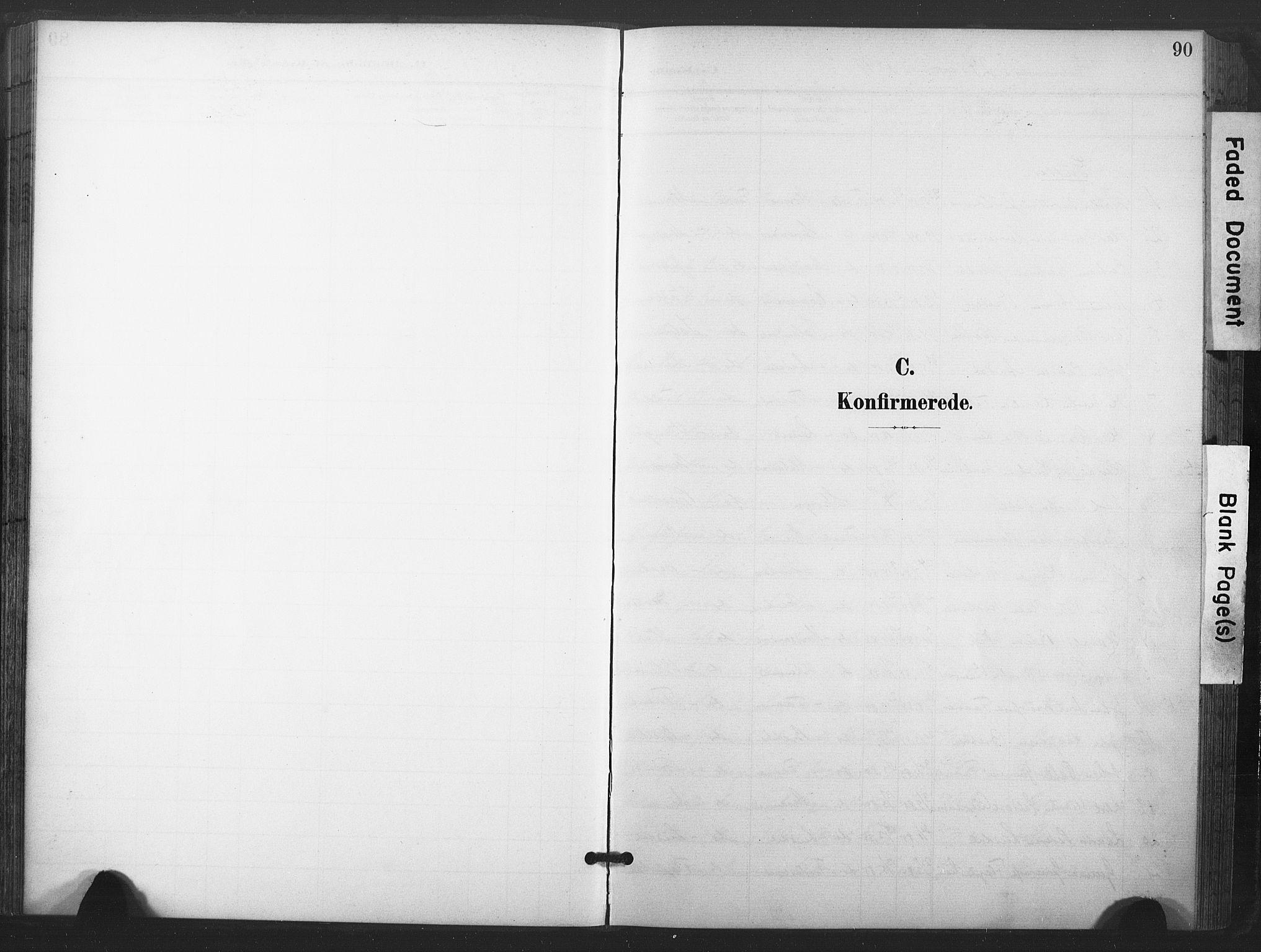 SAT, Ministerialprotokoller, klokkerbøker og fødselsregistre - Nord-Trøndelag, 713/L0122: Ministerialbok nr. 713A11, 1899-1910, s. 90