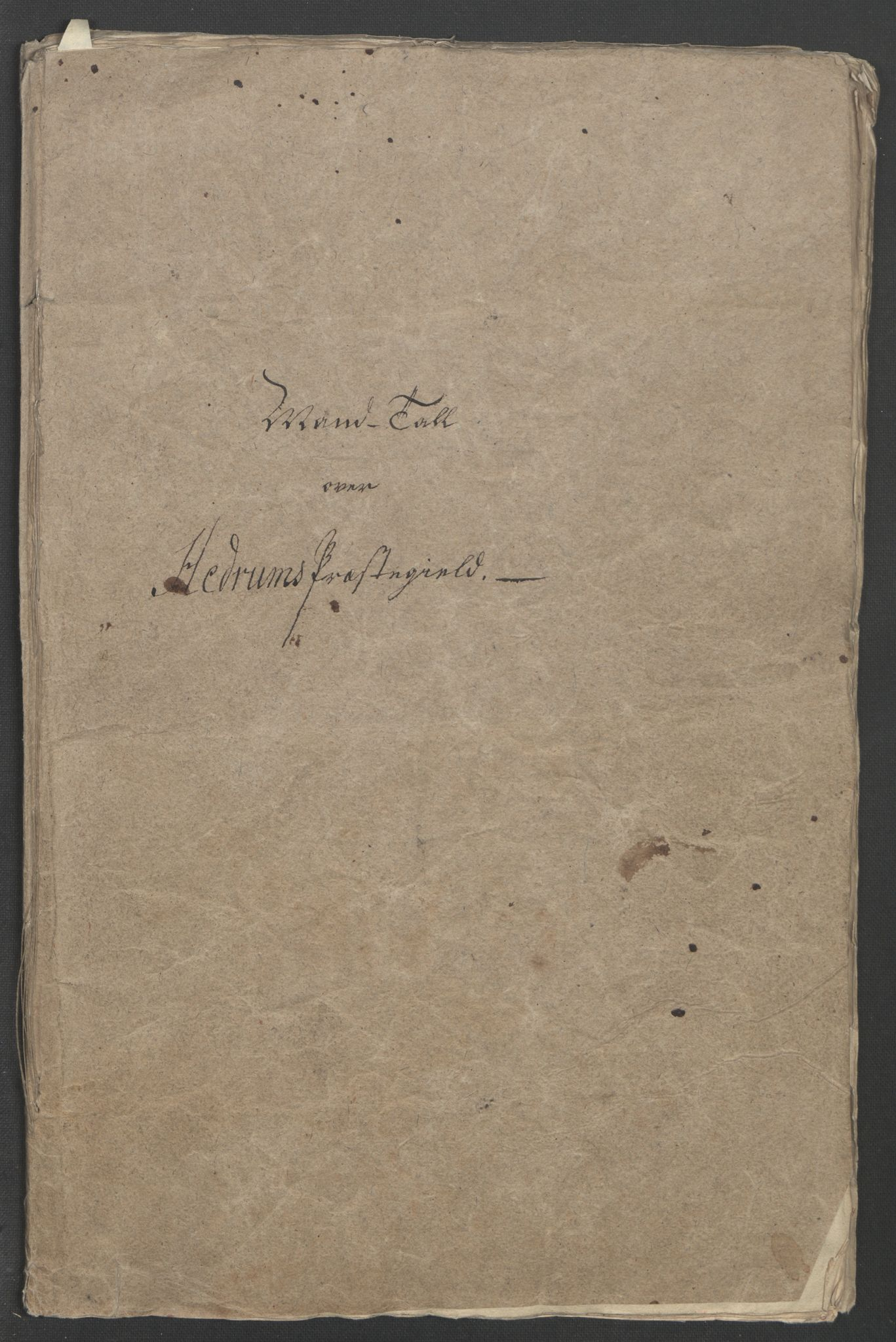 RA, Rentekammeret inntil 1814, Reviderte regnskaper, Fogderegnskap, R33/L2033: Ekstraskatten Larvik grevskap, 1762-1764, s. 337
