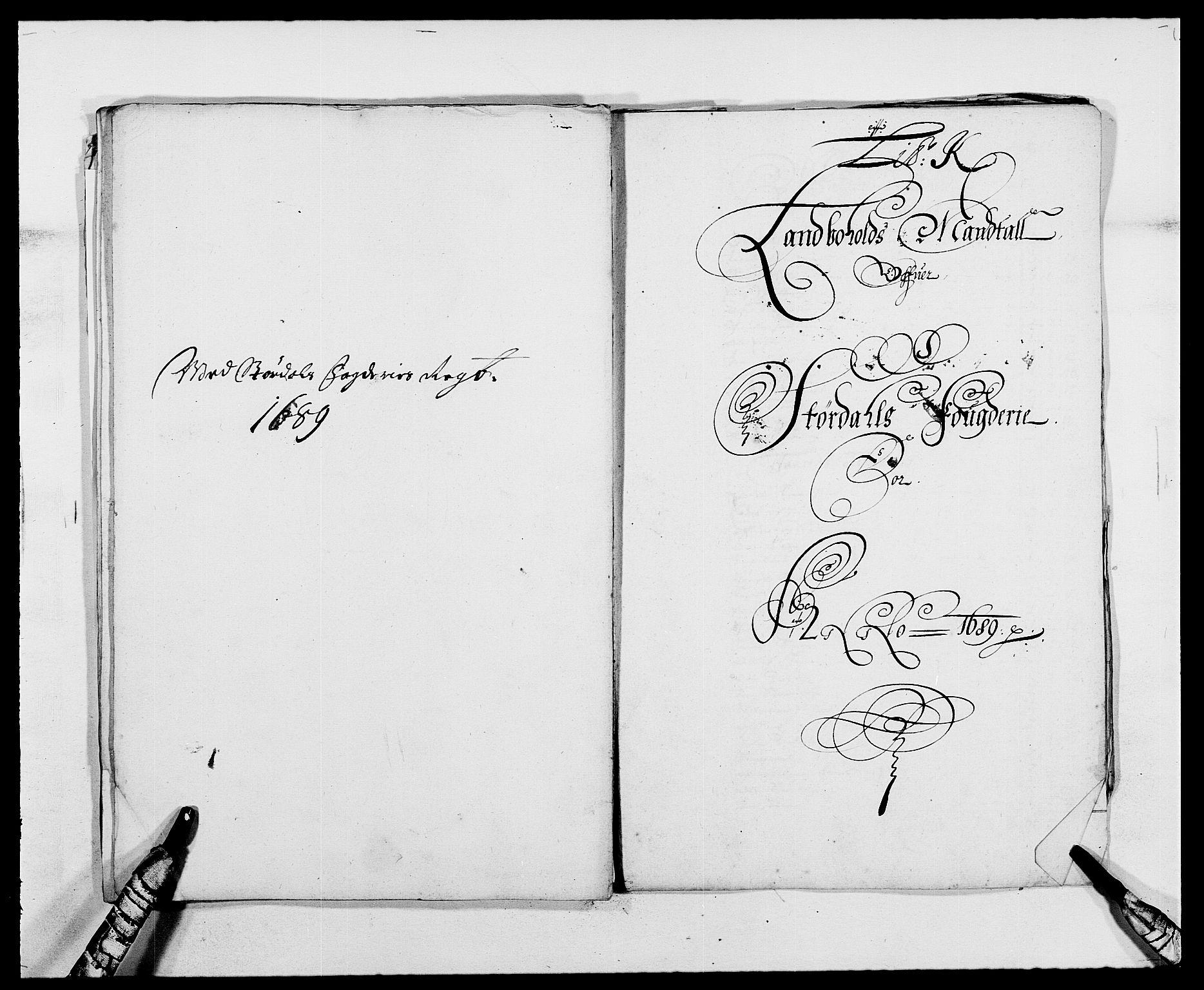 RA, Rentekammeret inntil 1814, Reviderte regnskaper, Fogderegnskap, R62/L4183: Fogderegnskap Stjørdal og Verdal, 1687-1689, s. 376
