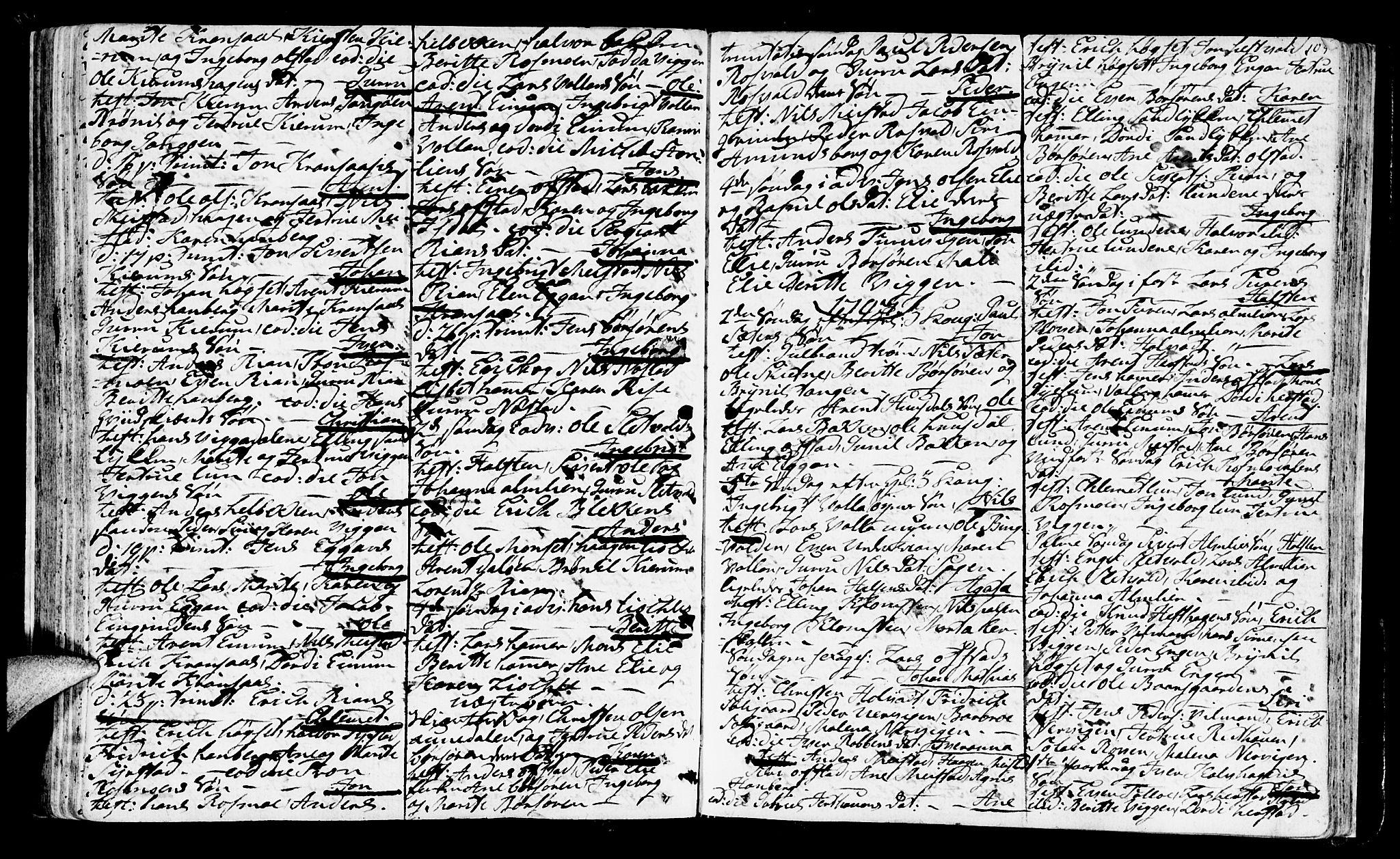 SAT, Ministerialprotokoller, klokkerbøker og fødselsregistre - Sør-Trøndelag, 665/L0768: Ministerialbok nr. 665A03, 1754-1803, s. 105