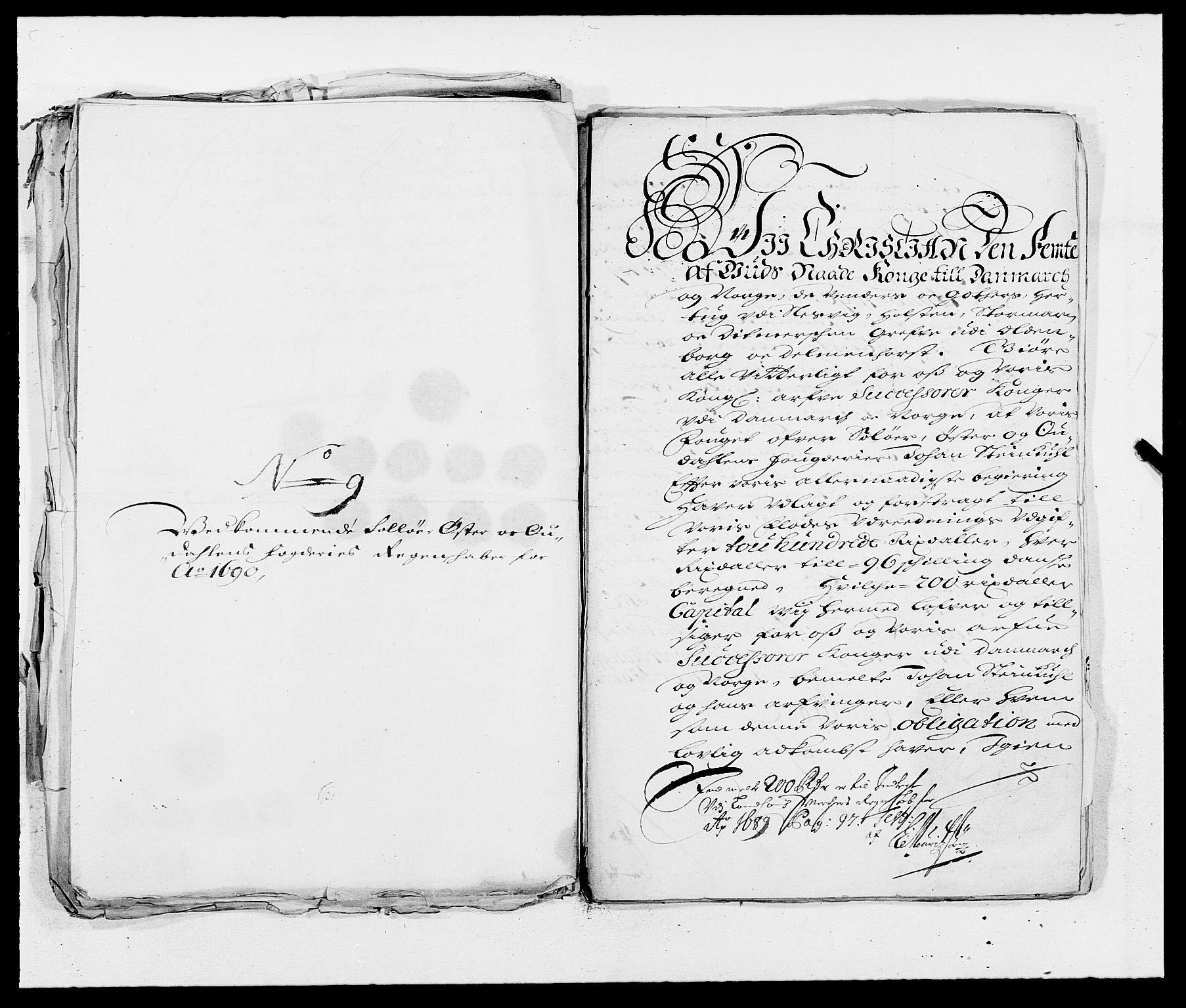 RA, Rentekammeret inntil 1814, Reviderte regnskaper, Fogderegnskap, R13/L0828: Fogderegnskap Solør, Odal og Østerdal, 1690, s. 306