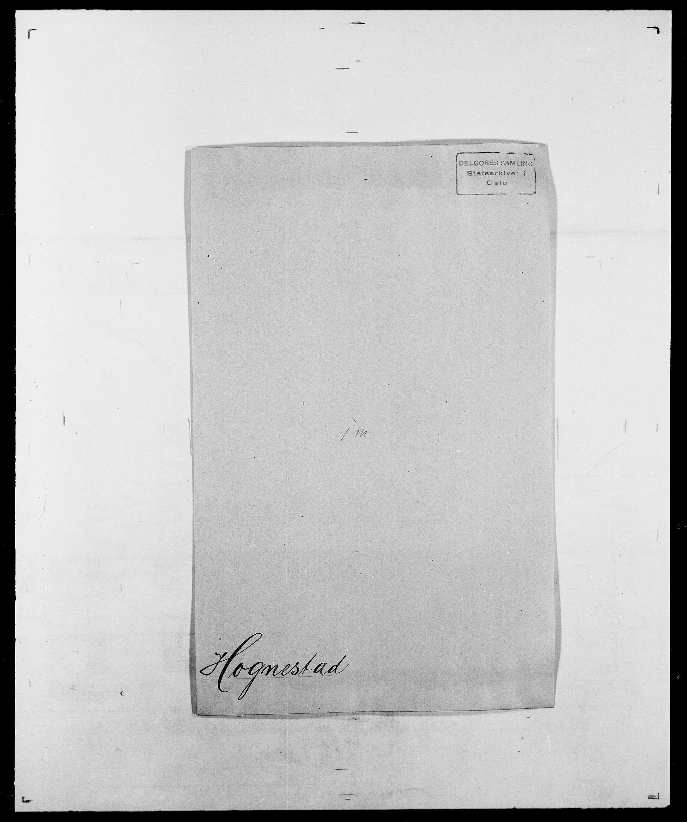 SAO, Delgobe, Charles Antoine - samling, D/Da/L0018: Hoch - Howert, s. 145