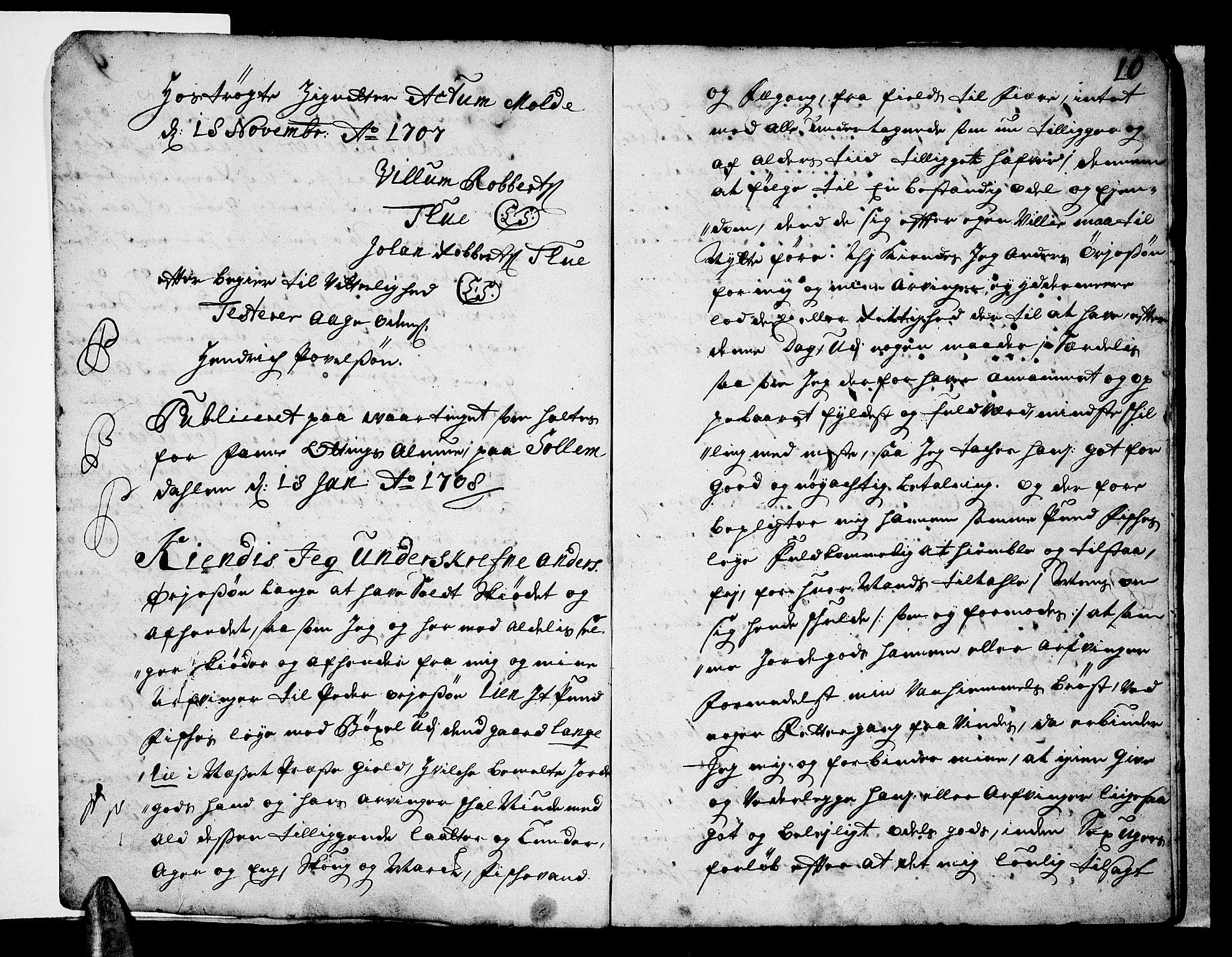 SAT, Romsdal sorenskriveri, 2/2C/L0001: Pantebok nr. 1, 1706-1724, s. 10