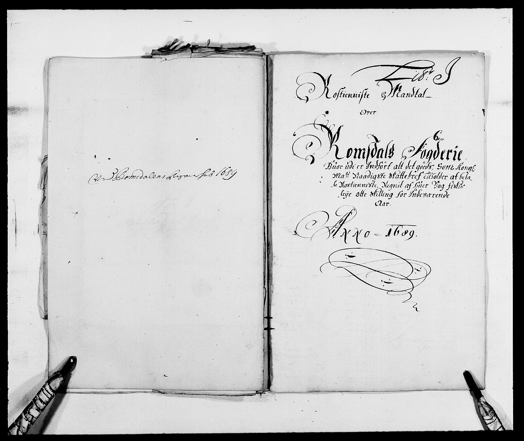 RA, Rentekammeret inntil 1814, Reviderte regnskaper, Fogderegnskap, R55/L3648: Fogderegnskap Romsdal, 1687-1689, s. 366