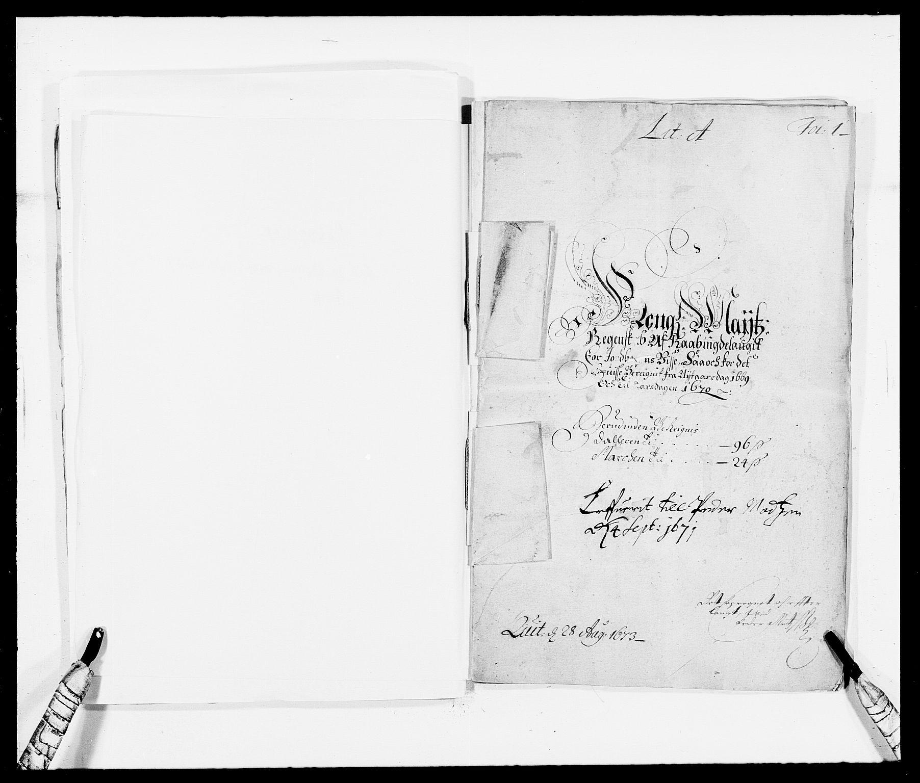 RA, Rentekammeret inntil 1814, Reviderte regnskaper, Fogderegnskap, R40/L2432: Fogderegnskap Råbyggelag, 1669-1670, s. 36