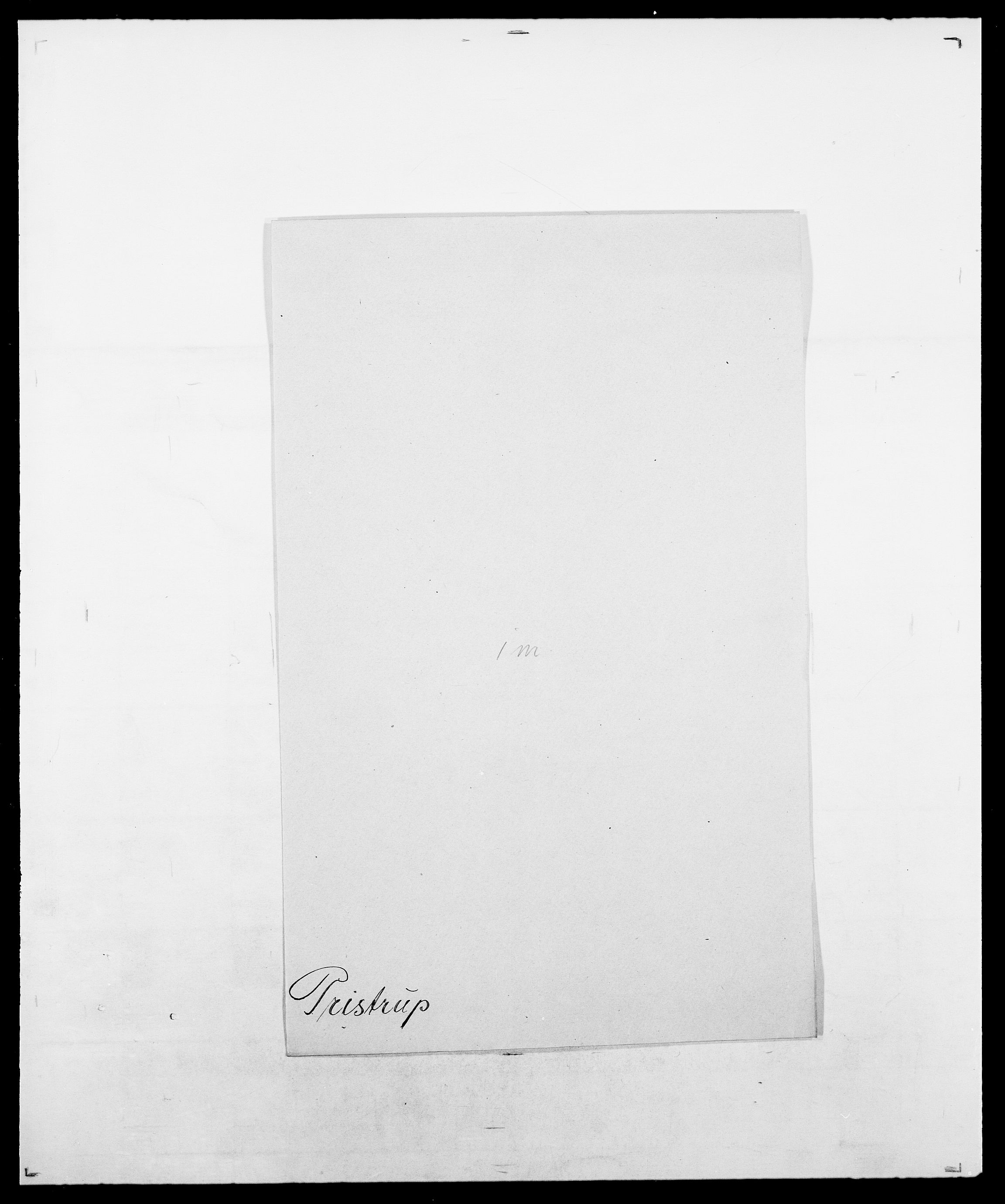 SAO, Delgobe, Charles Antoine - samling, D/Da/L0031: de Place - Raaum, s. 357