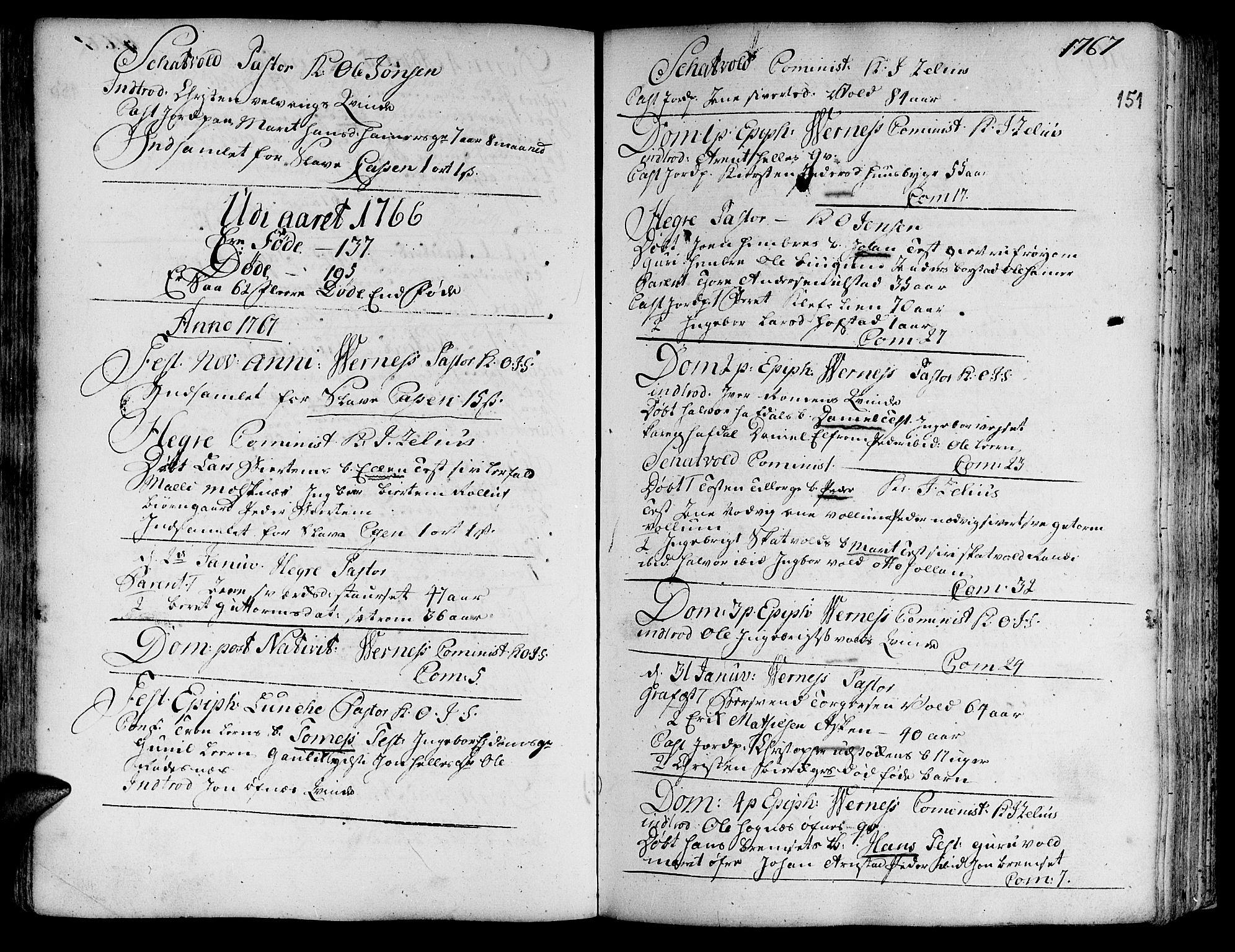 SAT, Ministerialprotokoller, klokkerbøker og fødselsregistre - Nord-Trøndelag, 709/L0057: Ministerialbok nr. 709A05, 1755-1780, s. 151