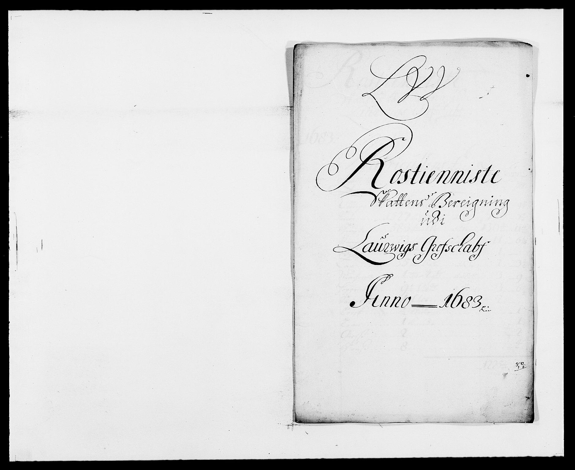 RA, Rentekammeret inntil 1814, Reviderte regnskaper, Fogderegnskap, R33/L1969: Fogderegnskap Larvik grevskap, 1675-1687, s. 316