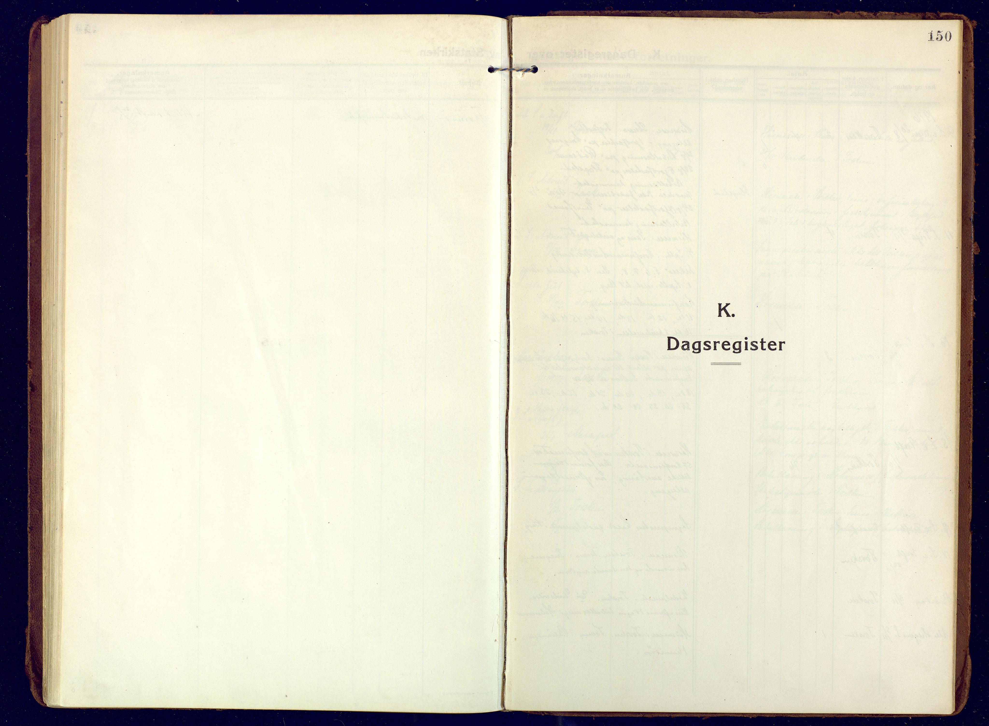 SATØ, Mefjord/Berg sokneprestkontor, G/Ga/Gaa: Ministerialbok nr. 10, 1916-1928, s. 150