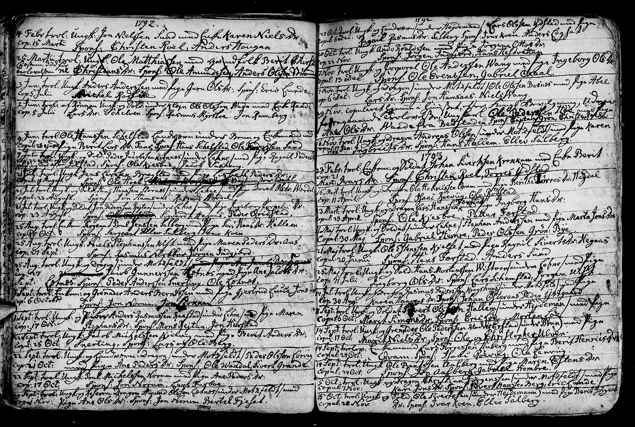 SAT, Ministerialprotokoller, klokkerbøker og fødselsregistre - Nord-Trøndelag, 730/L0273: Ministerialbok nr. 730A02, 1762-1802, s. 24