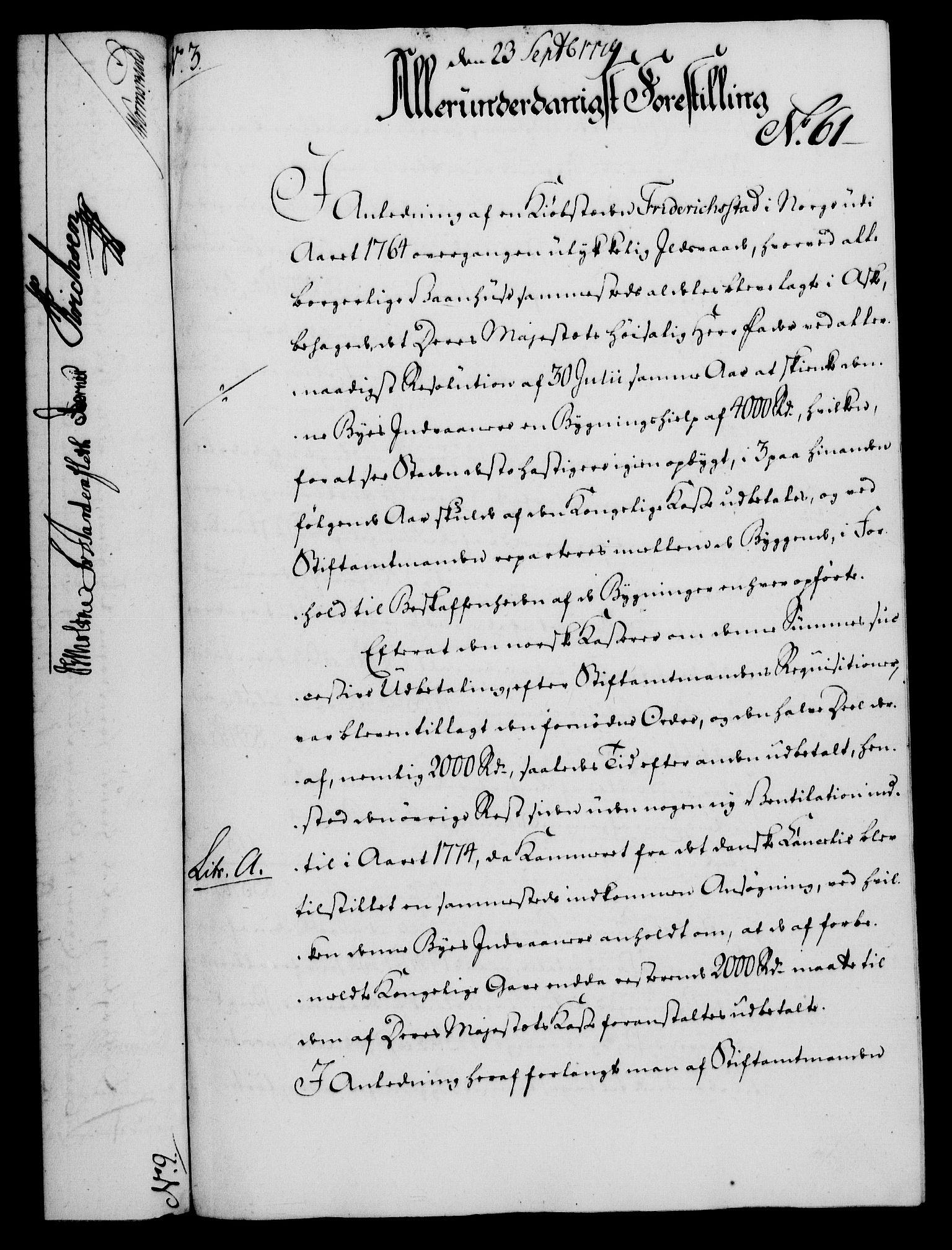 RA, Rentekammeret, Kammerkanselliet, G/Gf/Gfa/L0061: Norsk relasjons- og resolusjonsprotokoll (merket RK 52.61), 1779, s. 446