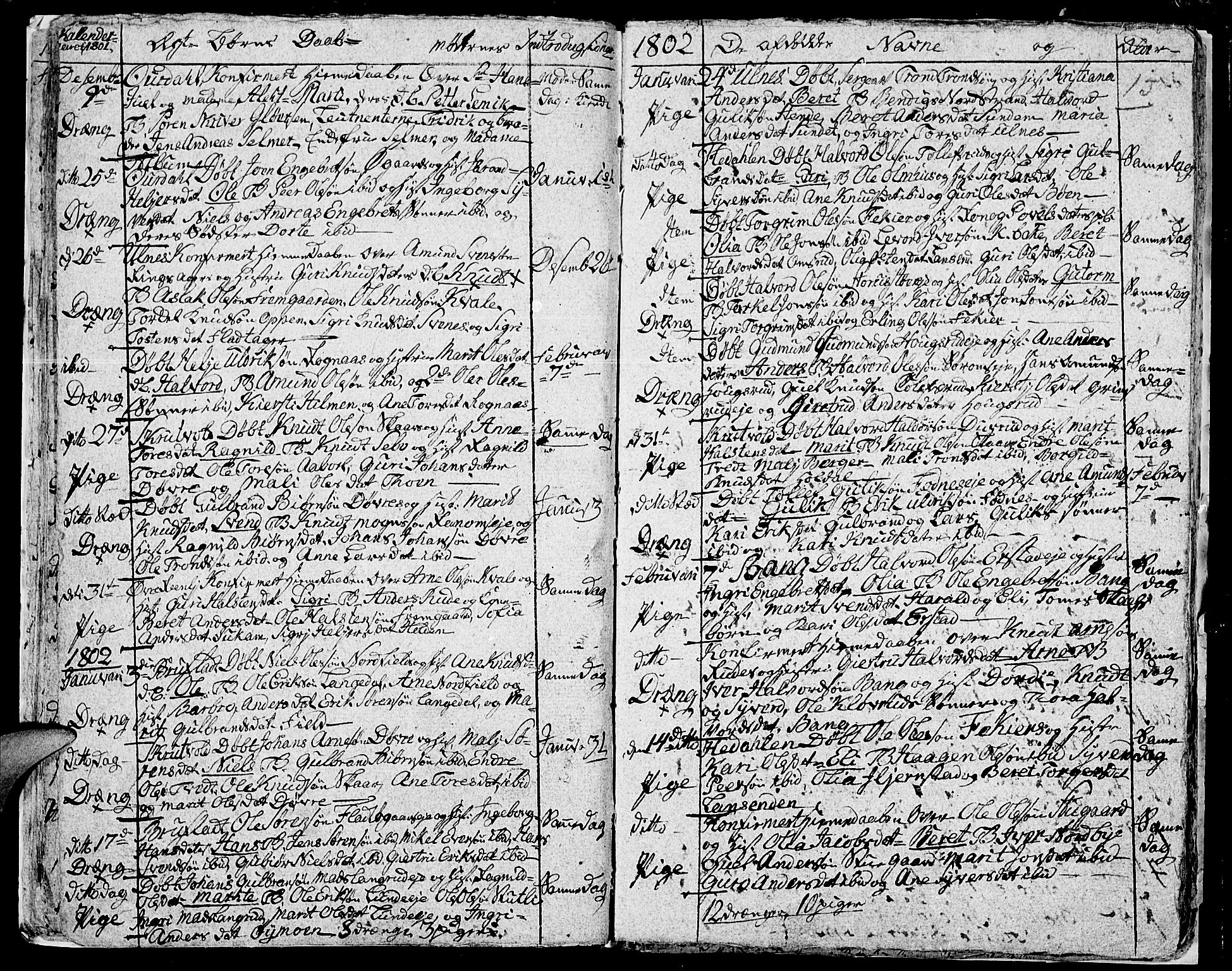 SAH, Aurdal prestekontor, Ministerialbok nr. 7, 1800-1808, s. 15