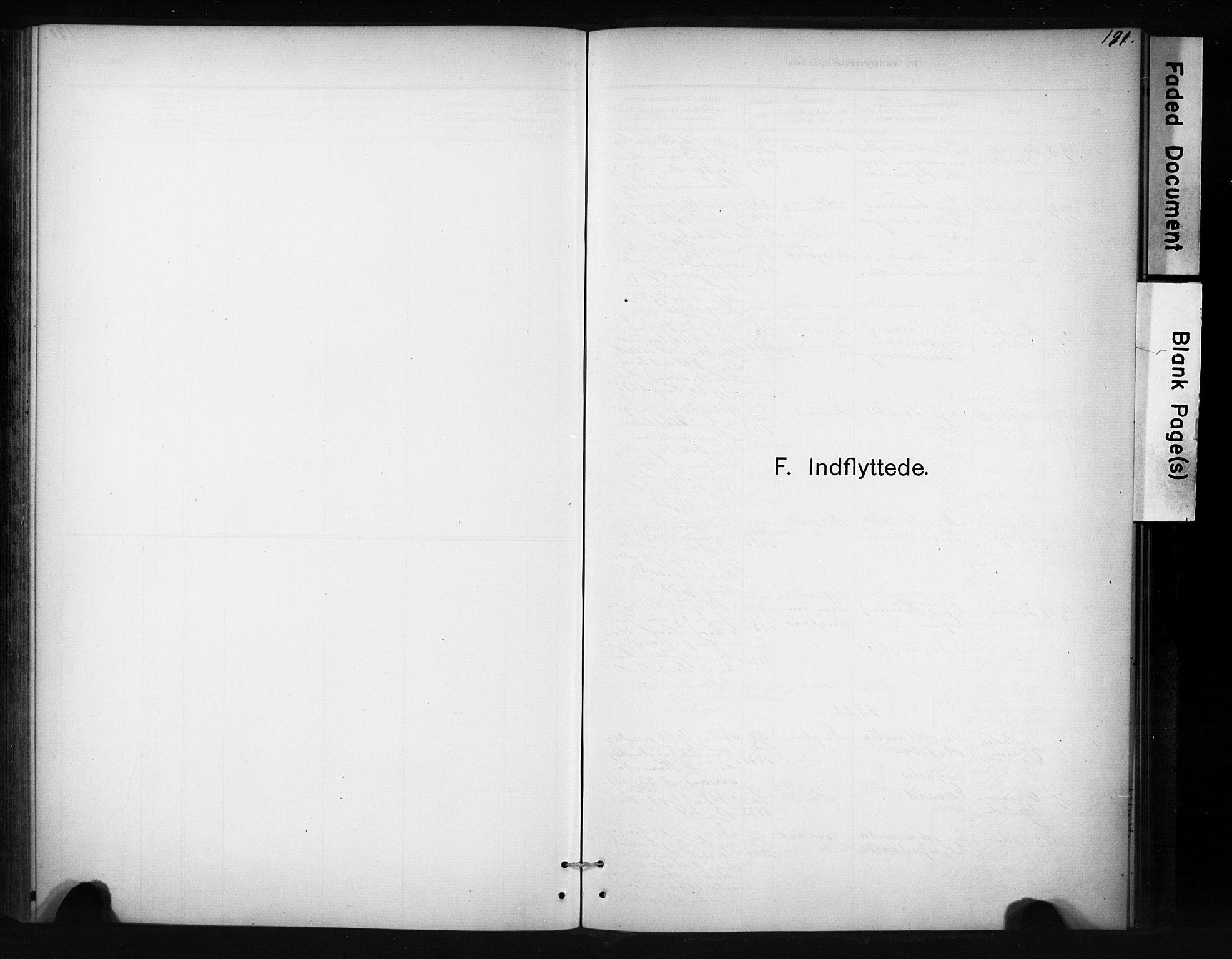 SAT, Ministerialprotokoller, klokkerbøker og fødselsregistre - Sør-Trøndelag, 694/L1127: Ministerialbok nr. 694A01, 1887-1905, s. 191