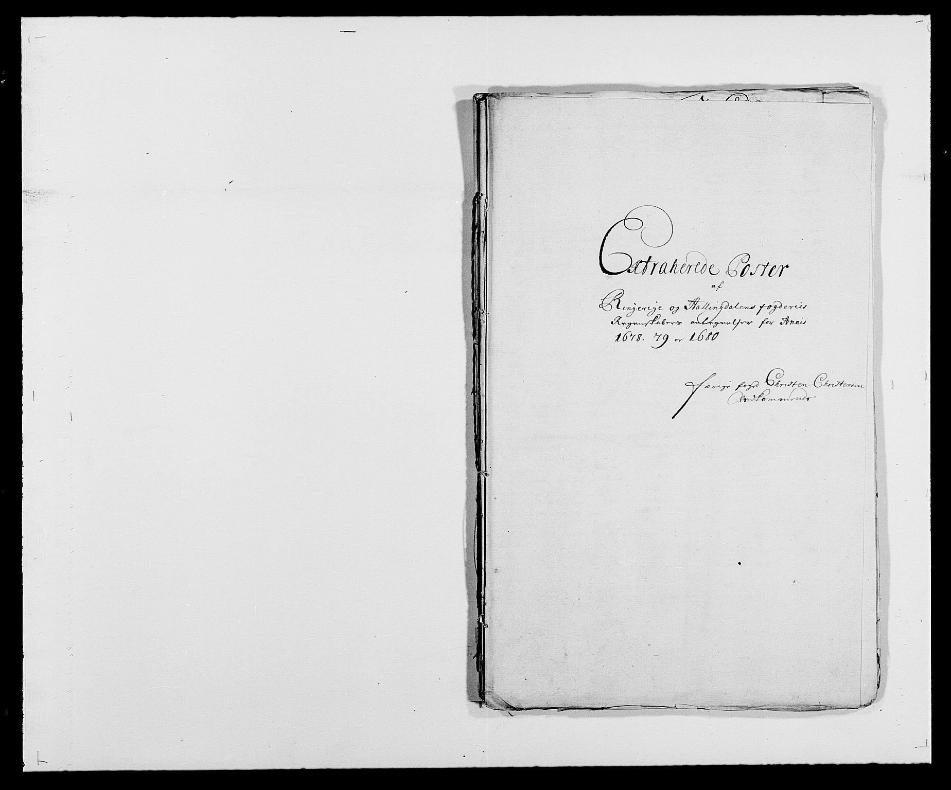 RA, Rentekammeret inntil 1814, Reviderte regnskaper, Fogderegnskap, R21/L1444: Fogderegnskap Ringerike og Hallingdal, 1680-1681, s. 197