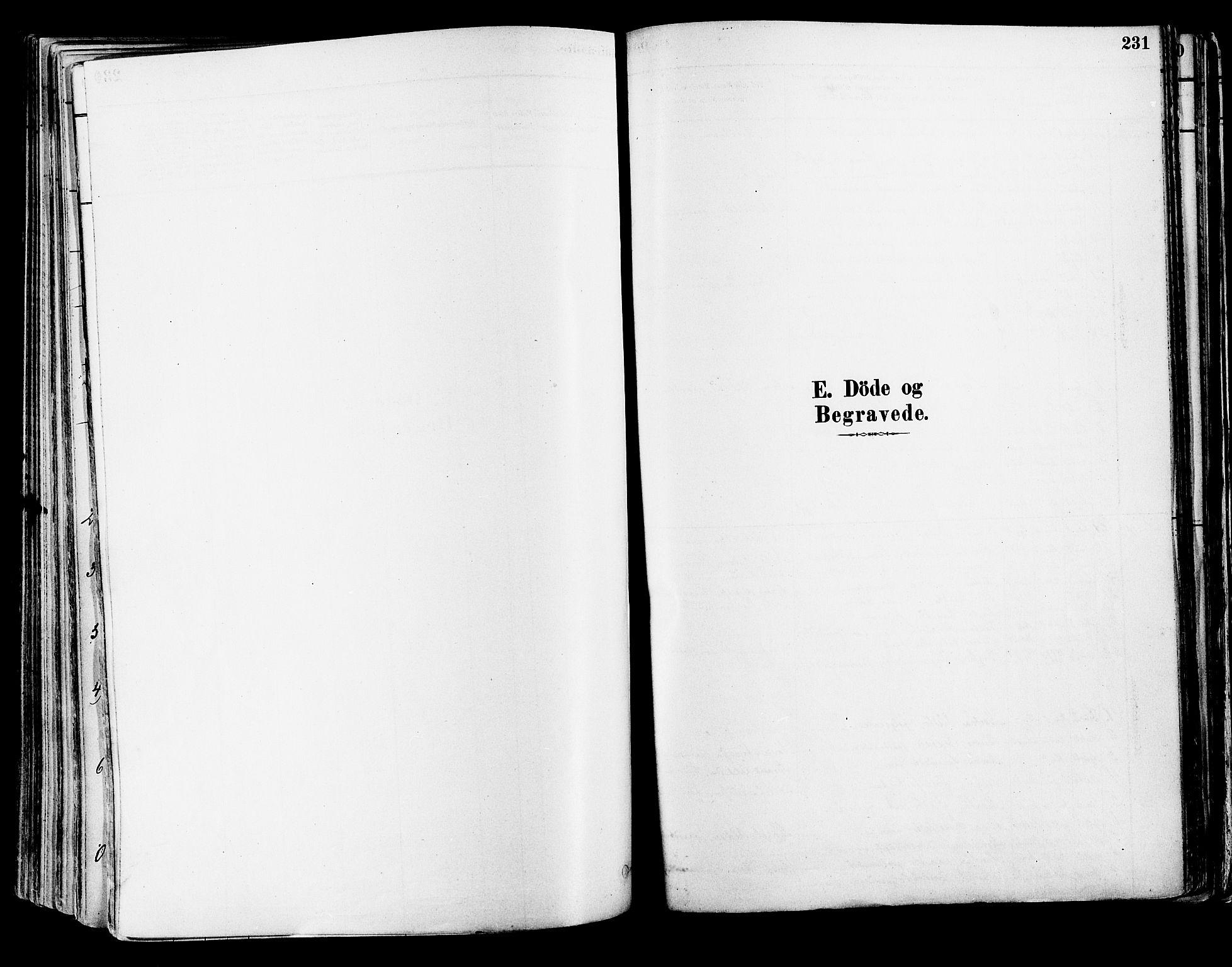 SAST, Suldal sokneprestkontor, IV/L0011: Ministerialbok nr. A 11, 1878-1900, s. 231