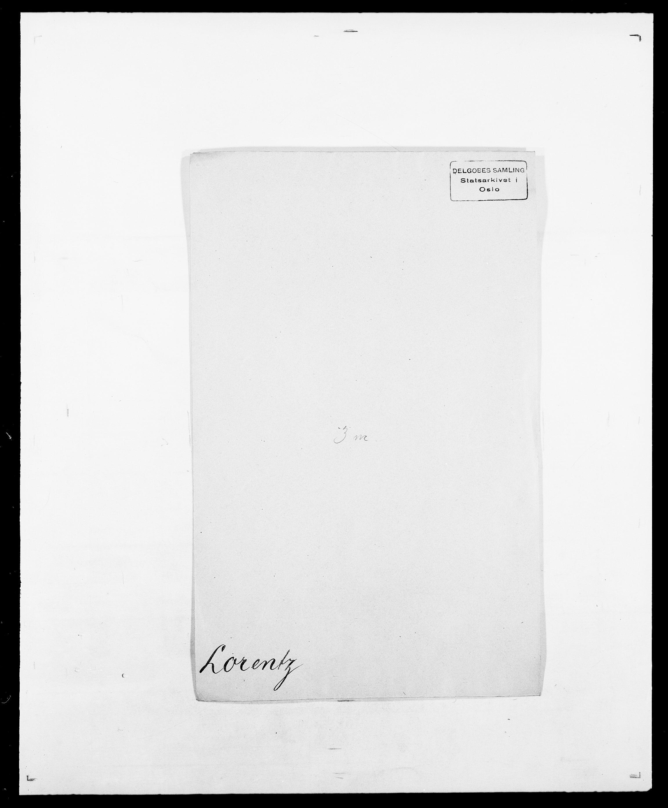 SAO, Delgobe, Charles Antoine - samling, D/Da/L0024: Lobech - Lærum, s. 246
