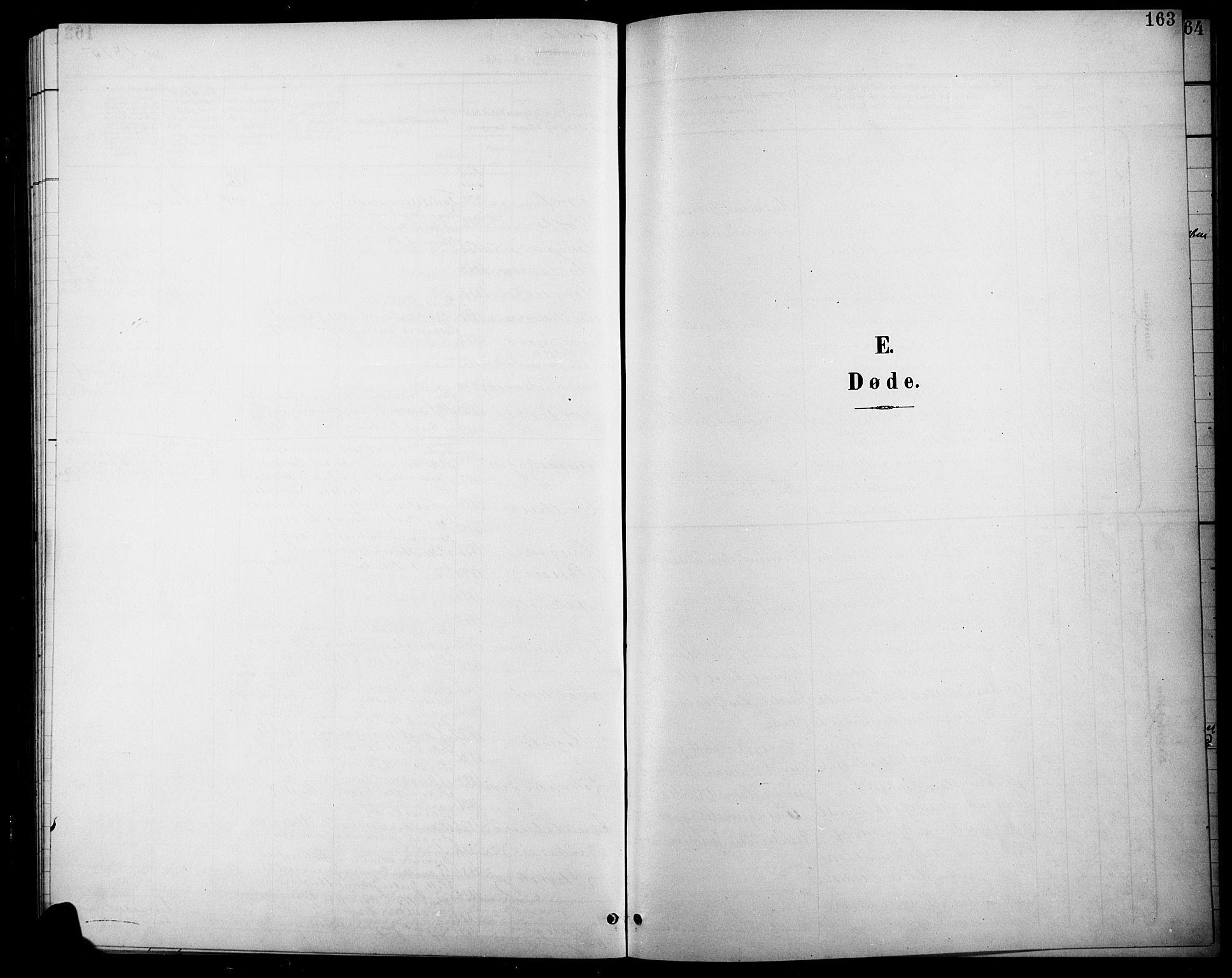 SAH, Søndre Land prestekontor, L/L0004: Klokkerbok nr. 4, 1901-1915, s. 163