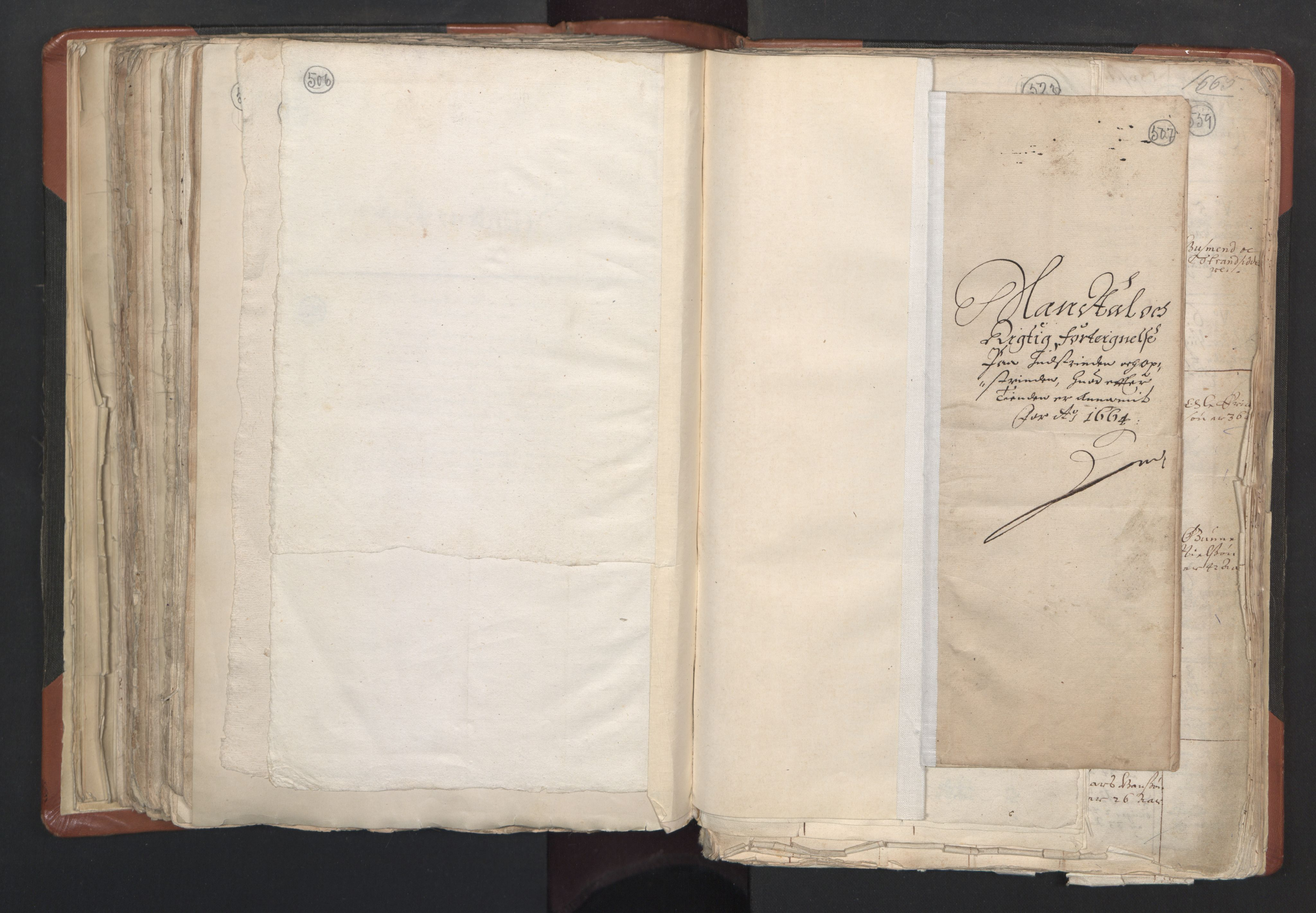 RA, Sogneprestenes manntall 1664-1666, nr. 31: Dalane prosti, 1664-1666, s. 506-507