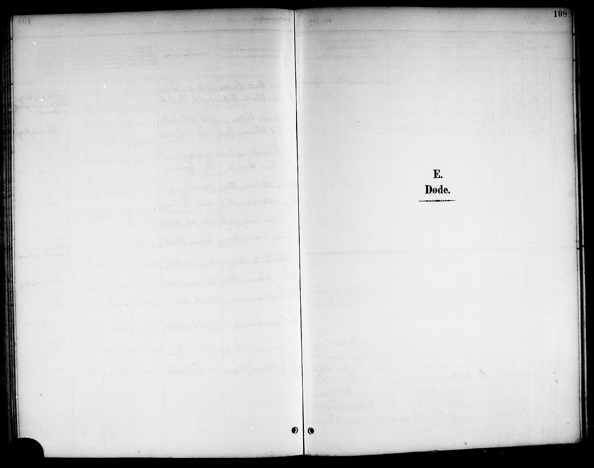 SAKO, Kviteseid kirkebøker, G/Ga/L0002: Klokkerbok nr. I 2, 1893-1918, s. 198