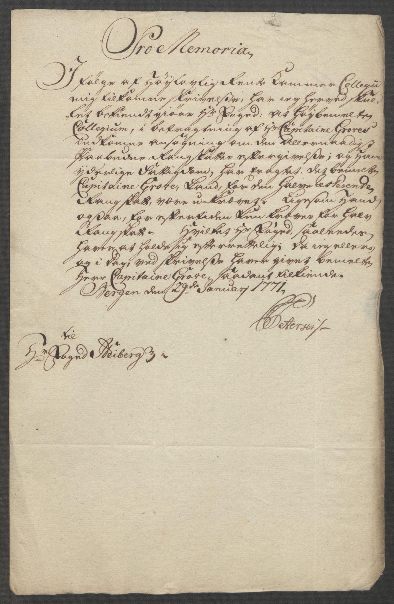 RA, Rentekammeret inntil 1814, Reviderte regnskaper, Fogderegnskap, R51/L3303: Ekstraskatten Nordhordland og Voss, 1762-1772, s. 489