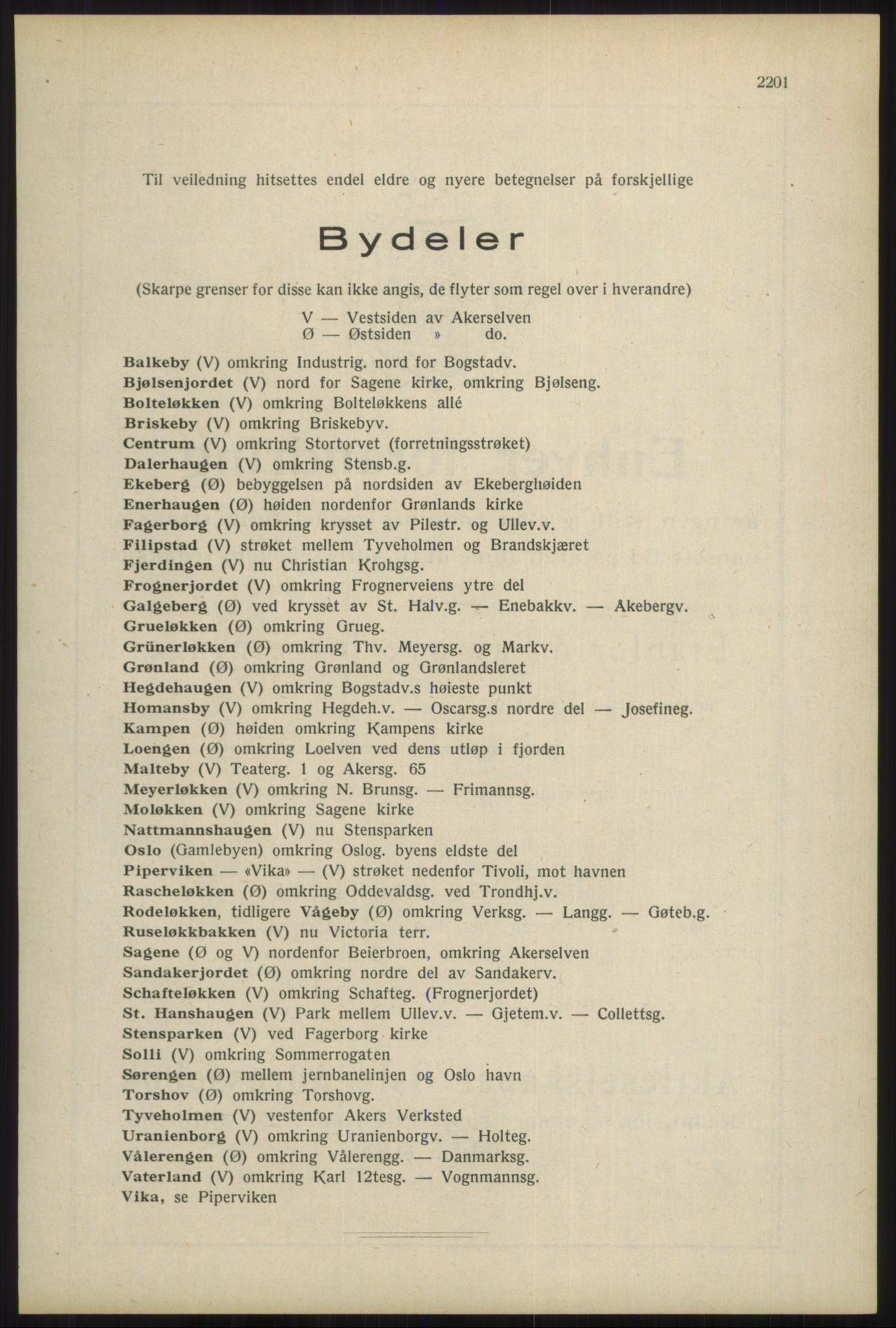 RA, Oslo adressebok (publikasjon)*, 1934, s. 2201