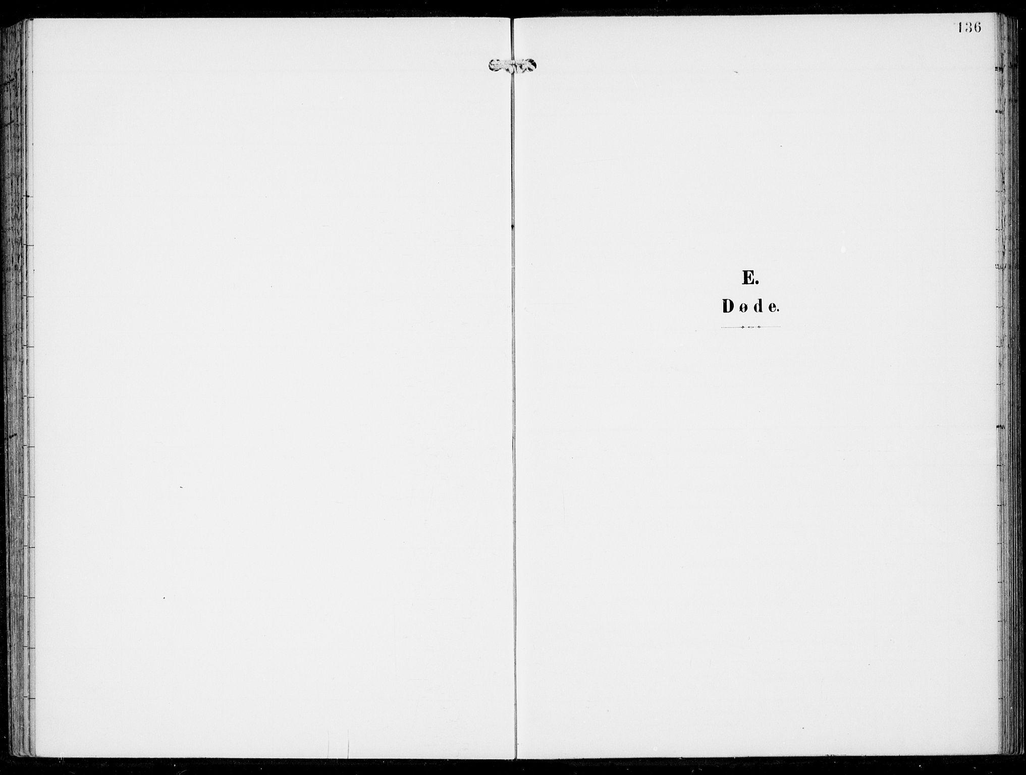 SAB, Haus Sokneprestembete, H/Haa: Ministerialbok nr. B  2, 1899-1912, s. 136