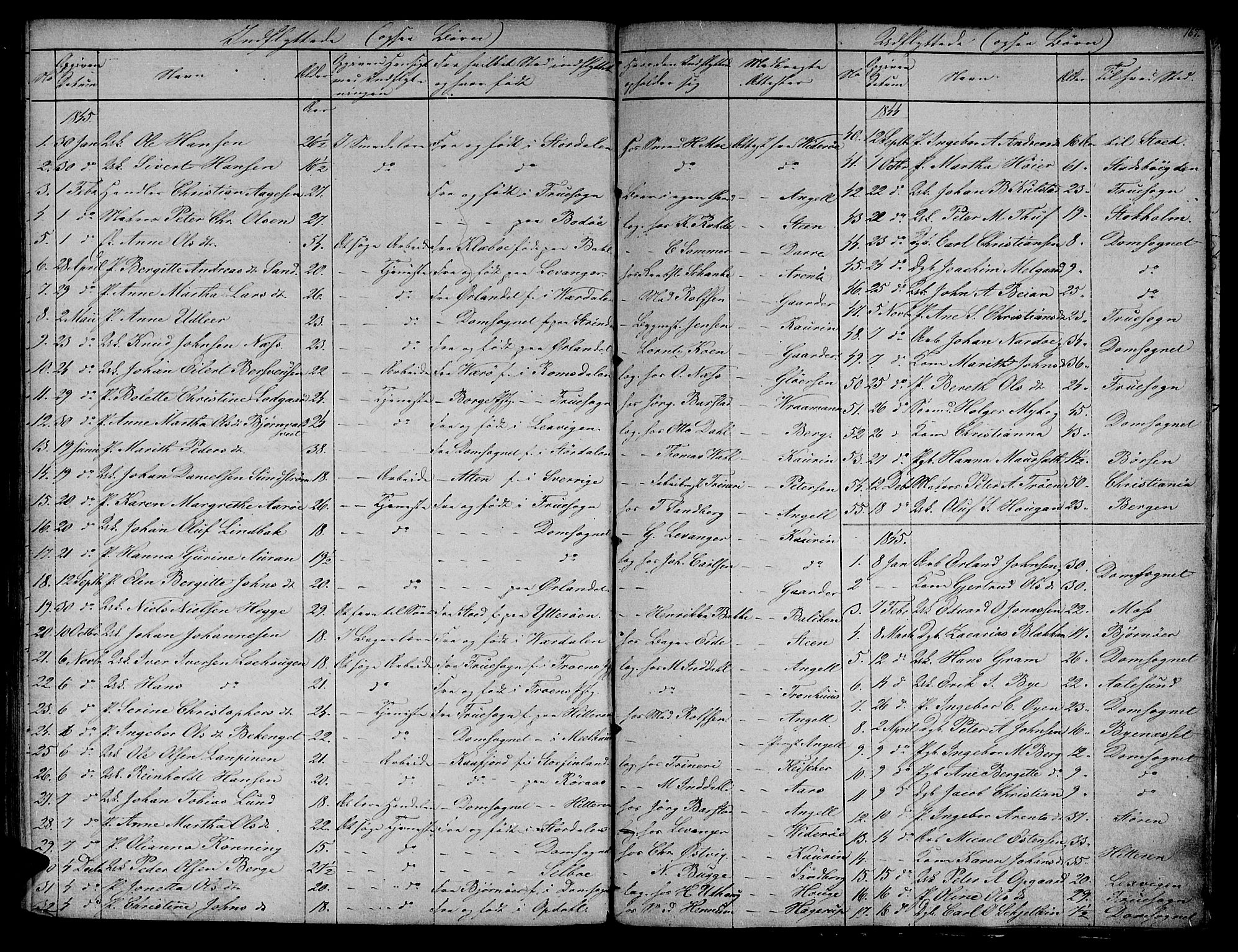 SAT, Ministerialprotokoller, klokkerbøker og fødselsregistre - Sør-Trøndelag, 604/L0182: Ministerialbok nr. 604A03, 1818-1850, s. 167