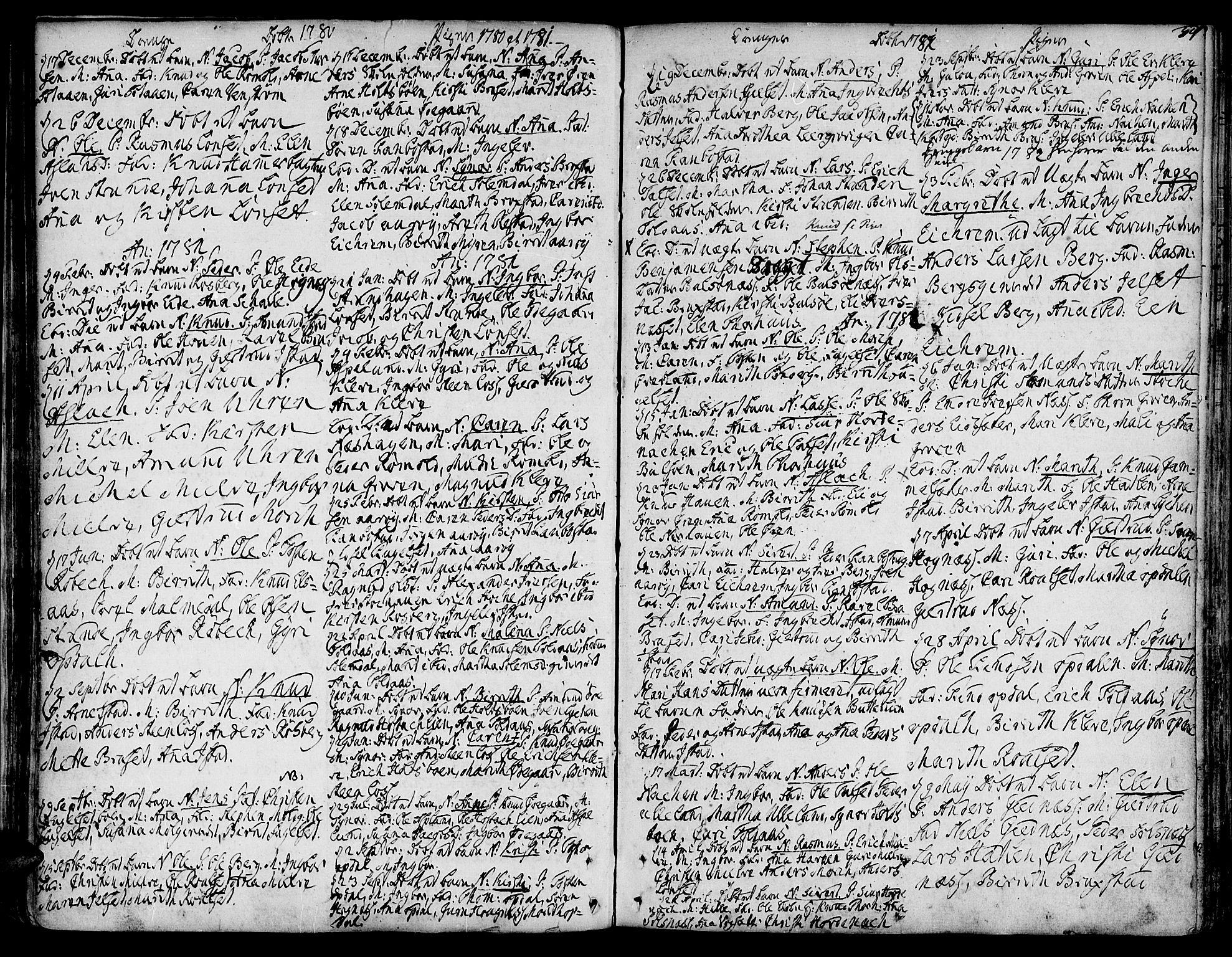 SAT, Ministerialprotokoller, klokkerbøker og fødselsregistre - Møre og Romsdal, 555/L0648: Ministerialbok nr. 555A01, 1759-1793, s. 54
