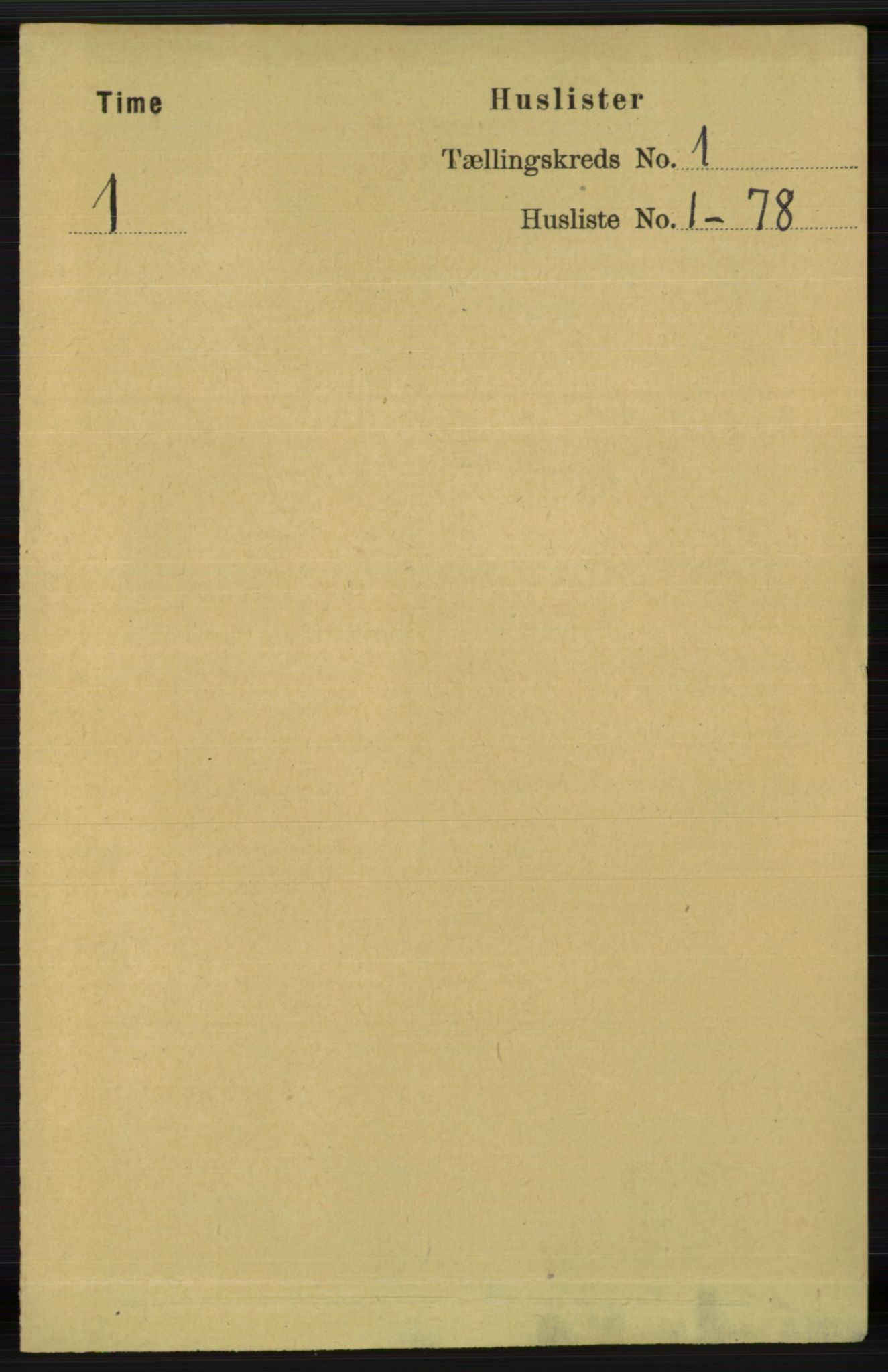 RA, Folketelling 1891 for 1121 Time herred, 1891, s. 24