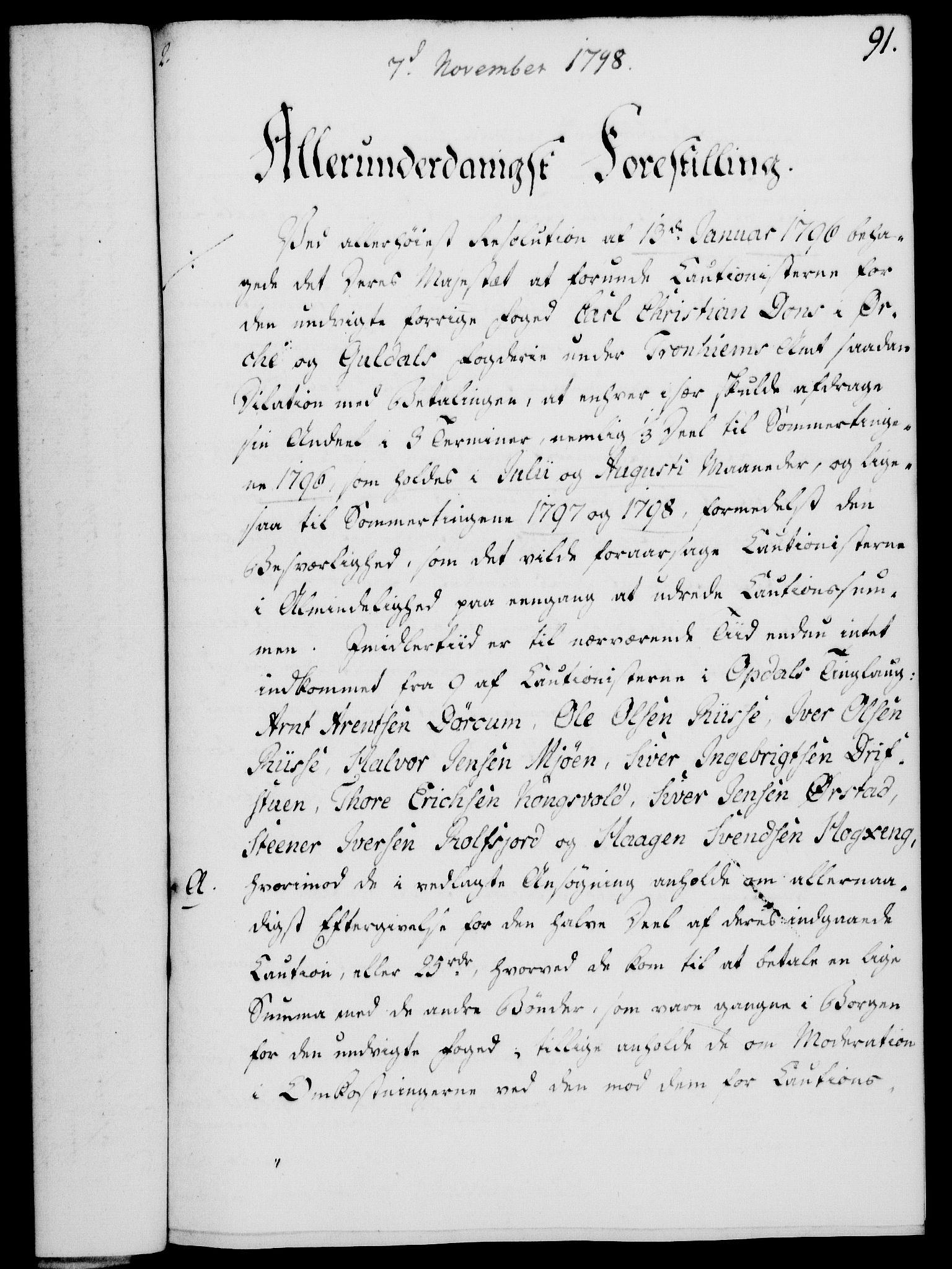 RA, Rentekammeret, Kammerkanselliet, G/Gf/Gfa/L0080: Norsk relasjons- og resolusjonsprotokoll (merket RK 52.80), 1798, s. 585