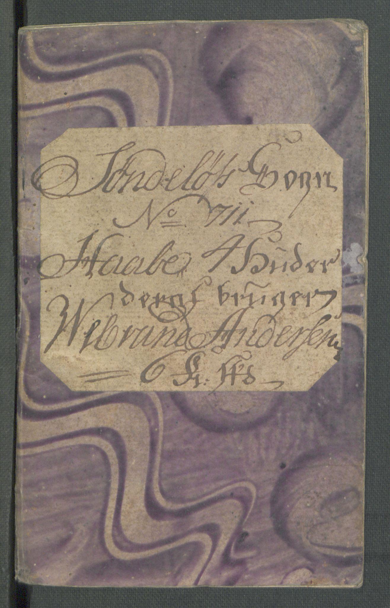 RA, Rentekammeret inntil 1814, Realistisk ordnet avdeling, Od/L0001: Oppløp, 1786-1769, s. 421