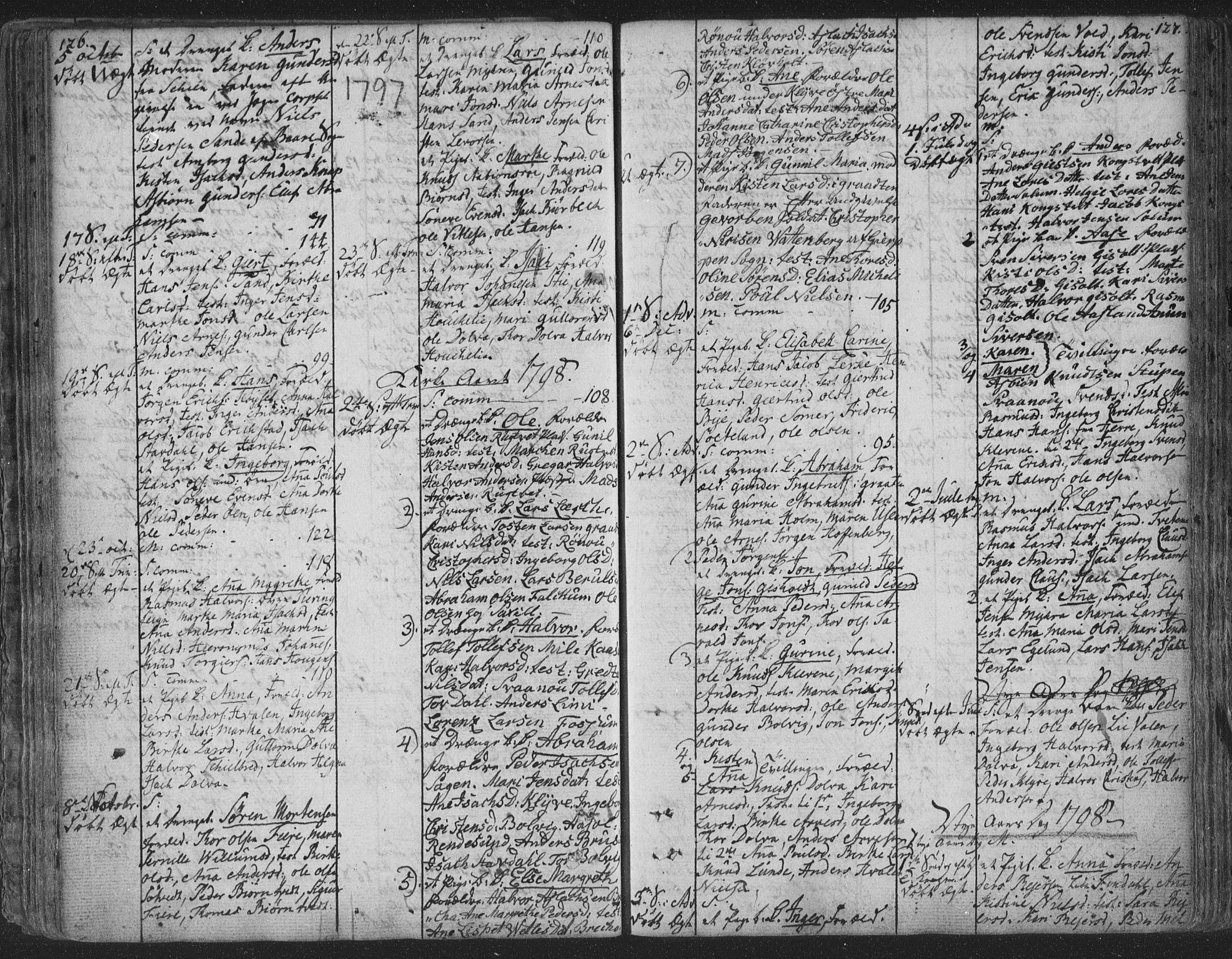 SAKO, Solum kirkebøker, F/Fa/L0003: Ministerialbok nr. I 3, 1761-1814, s. 126-127