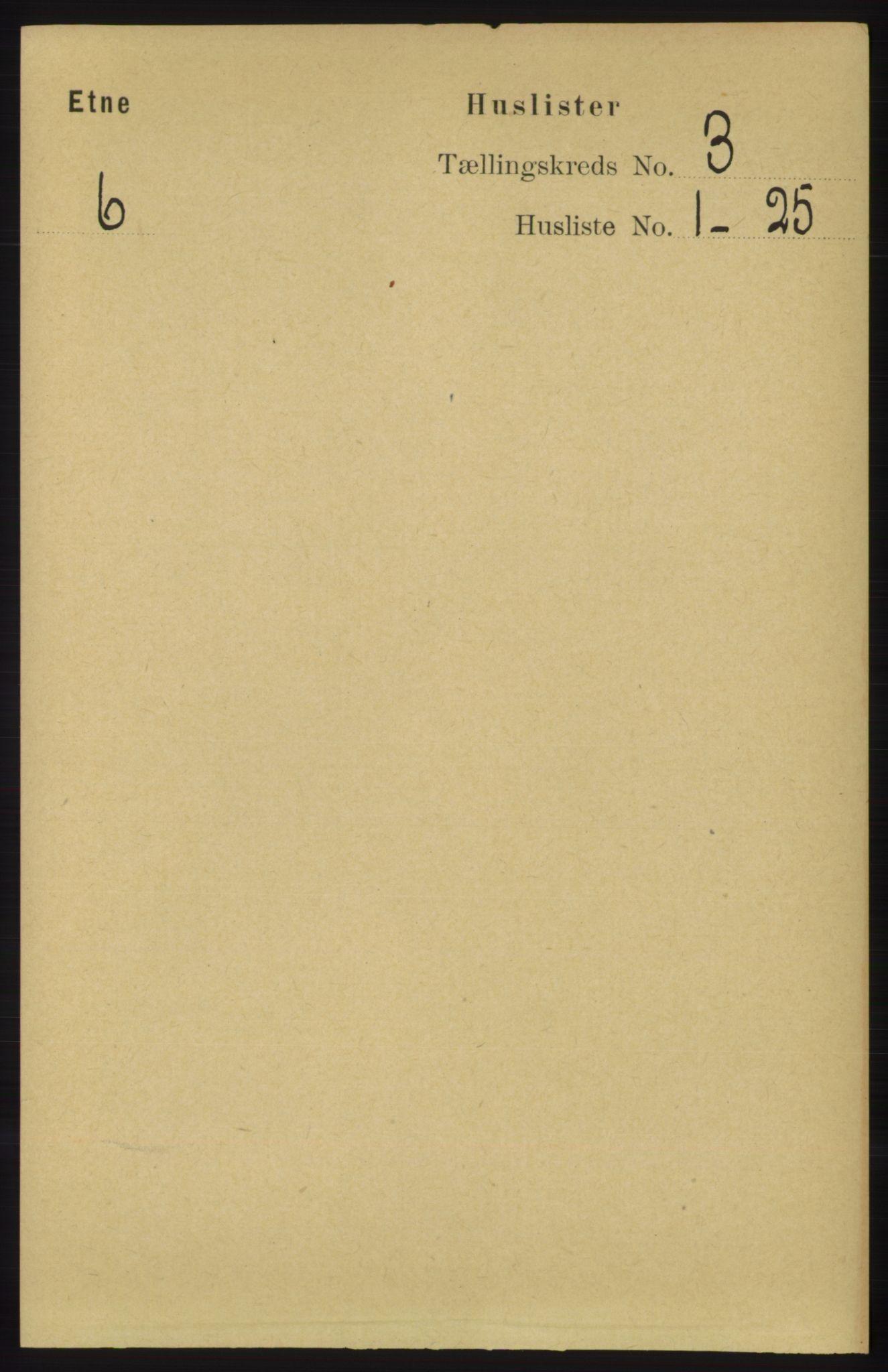 RA, Folketelling 1891 for 1211 Etne herred, 1891, s. 662