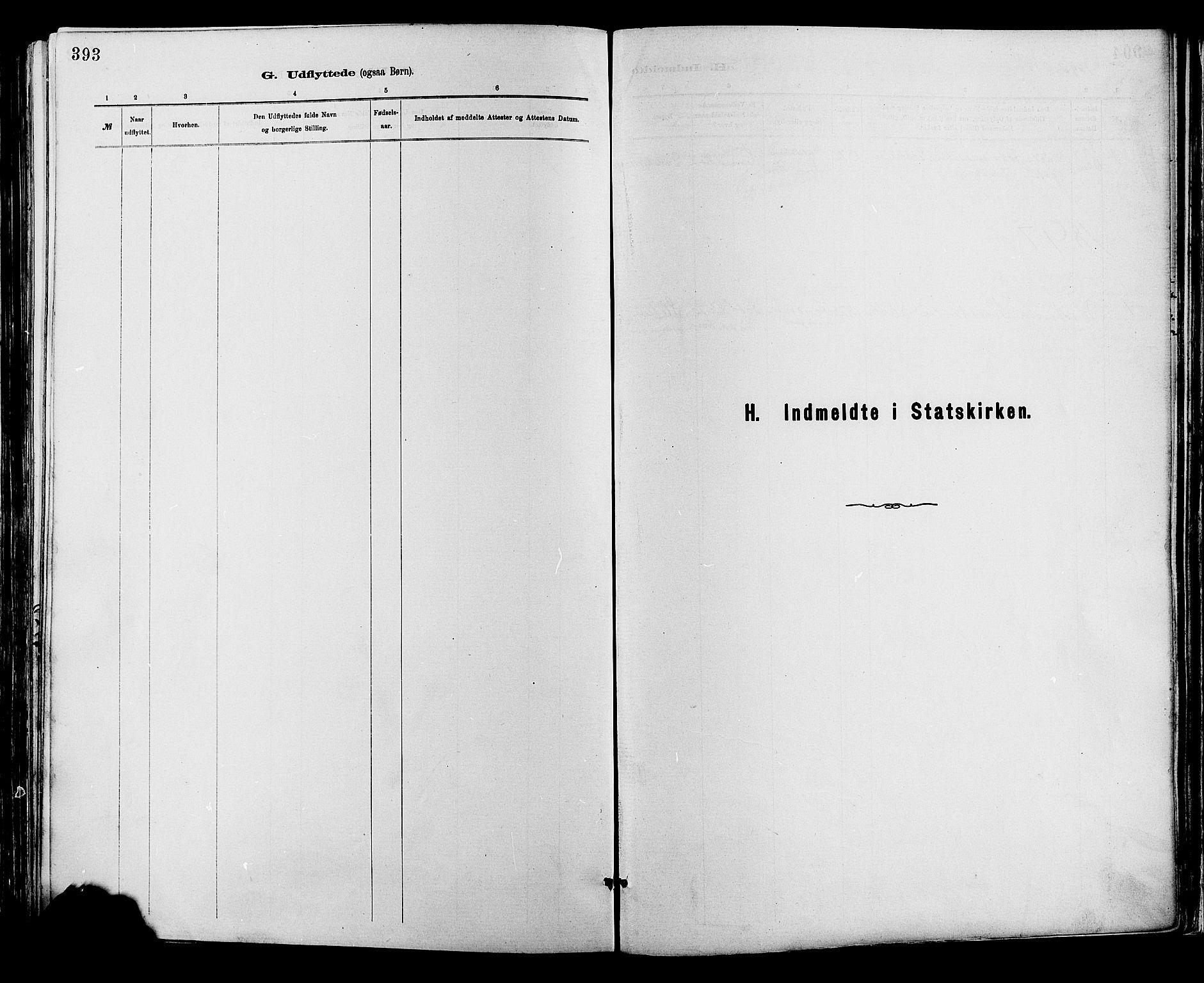 SAH, Sør-Fron prestekontor, H/Ha/Haa/L0003: Ministerialbok nr. 3, 1881-1897, s. 393