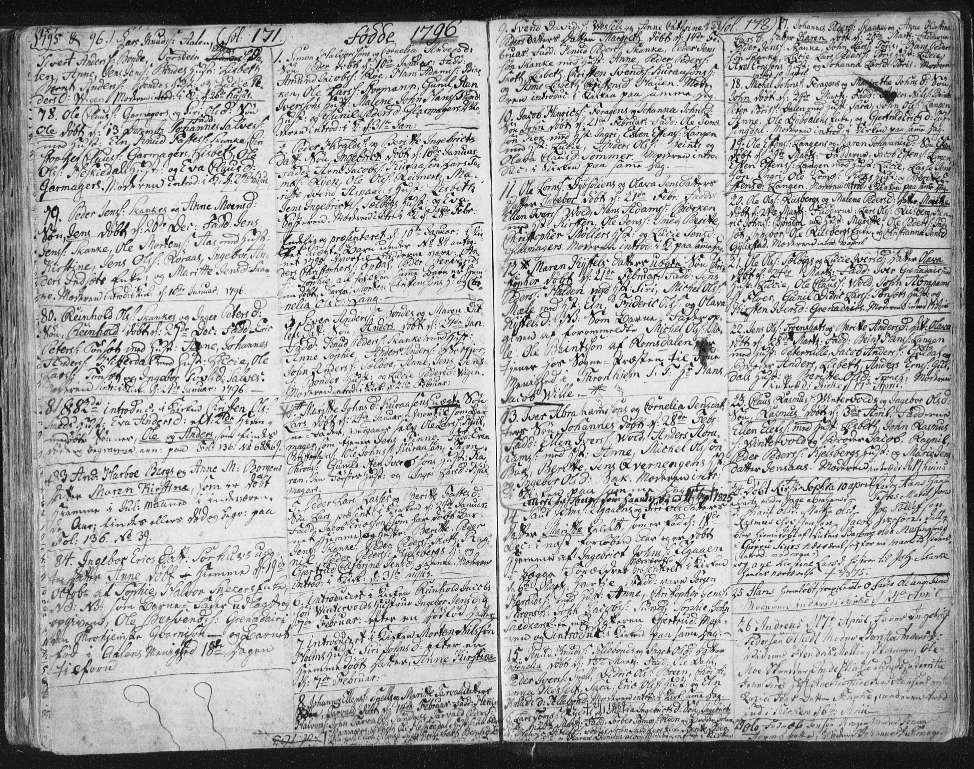 SAT, Ministerialprotokoller, klokkerbøker og fødselsregistre - Sør-Trøndelag, 681/L0926: Ministerialbok nr. 681A04, 1767-1797, s. 159