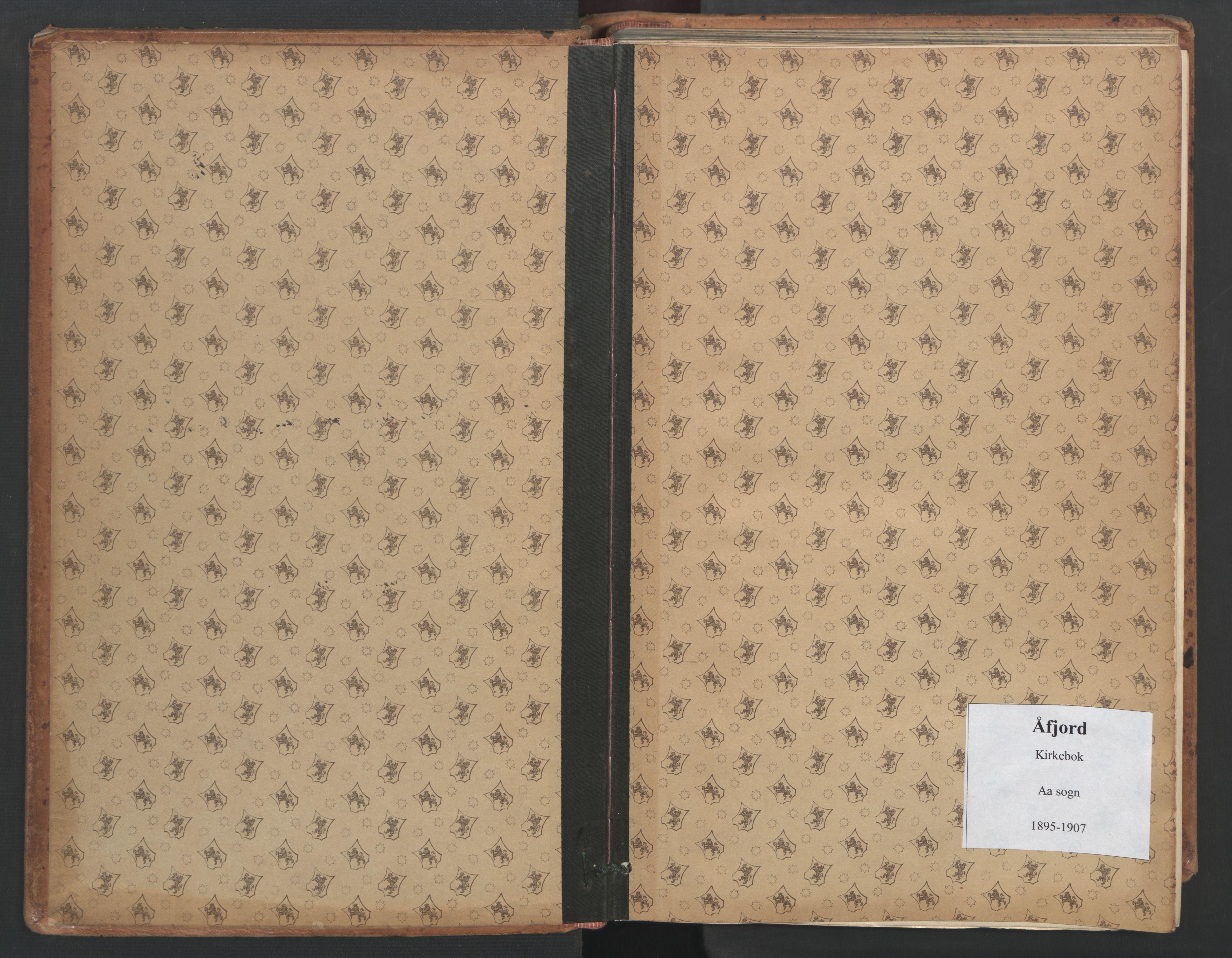 SAT, Ministerialprotokoller, klokkerbøker og fødselsregistre - Sør-Trøndelag, 655/L0681: Ministerialbok nr. 655A10, 1895-1907