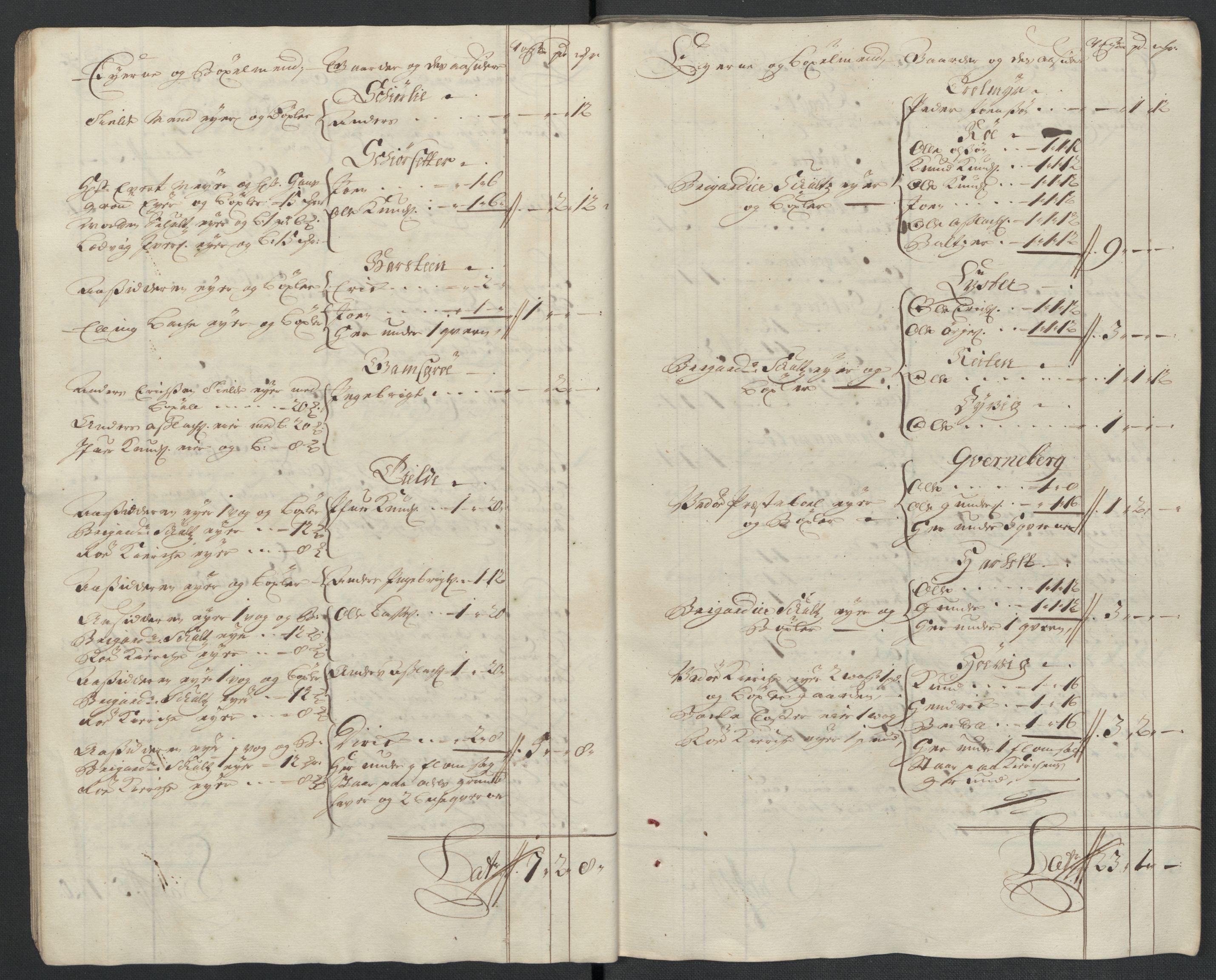 RA, Rentekammeret inntil 1814, Reviderte regnskaper, Fogderegnskap, R55/L3656: Fogderegnskap Romsdal, 1703-1705, s. 374
