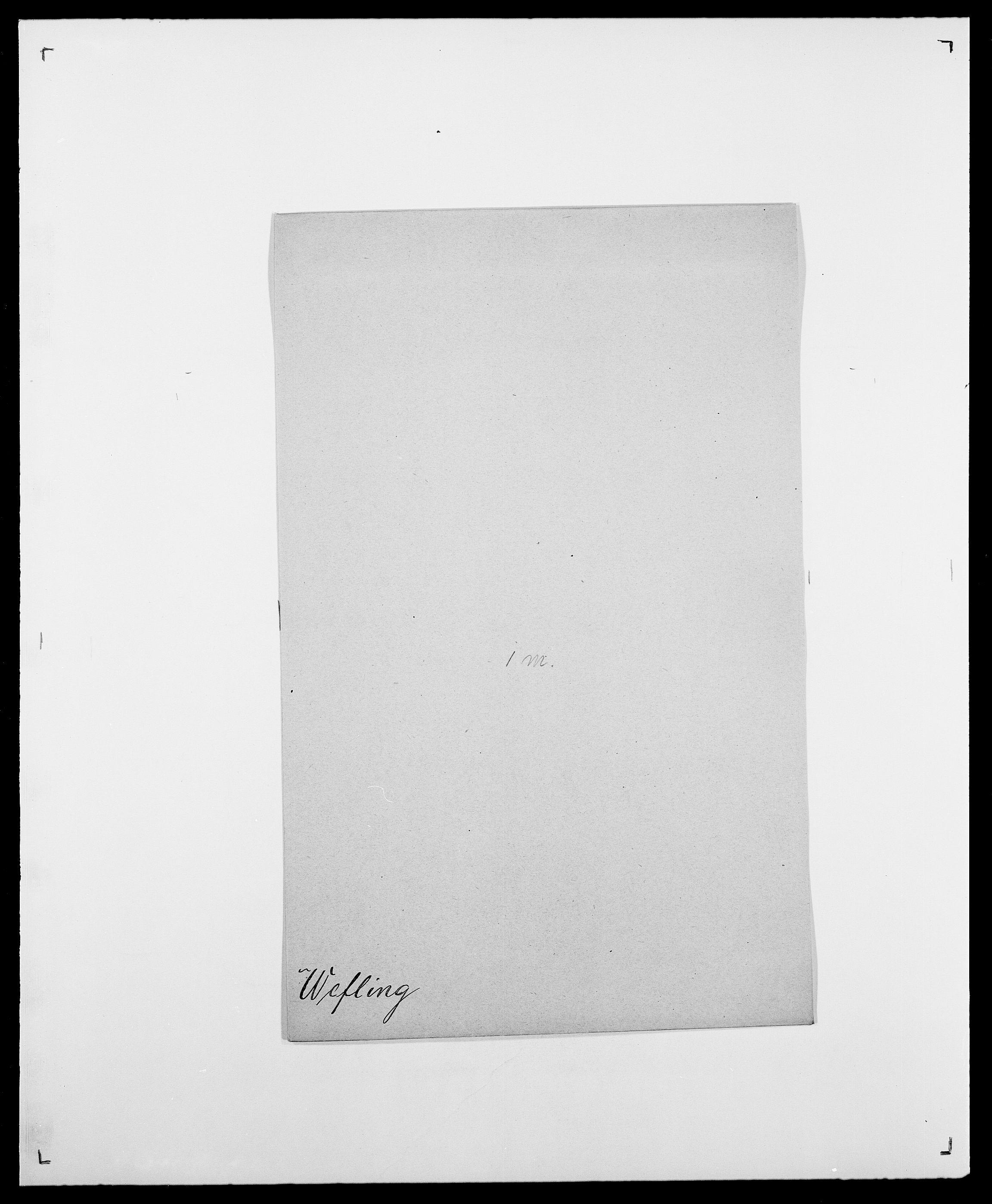 SAO, Delgobe, Charles Antoine - samling, D/Da/L0040: Usgaard - Velund, s. 479