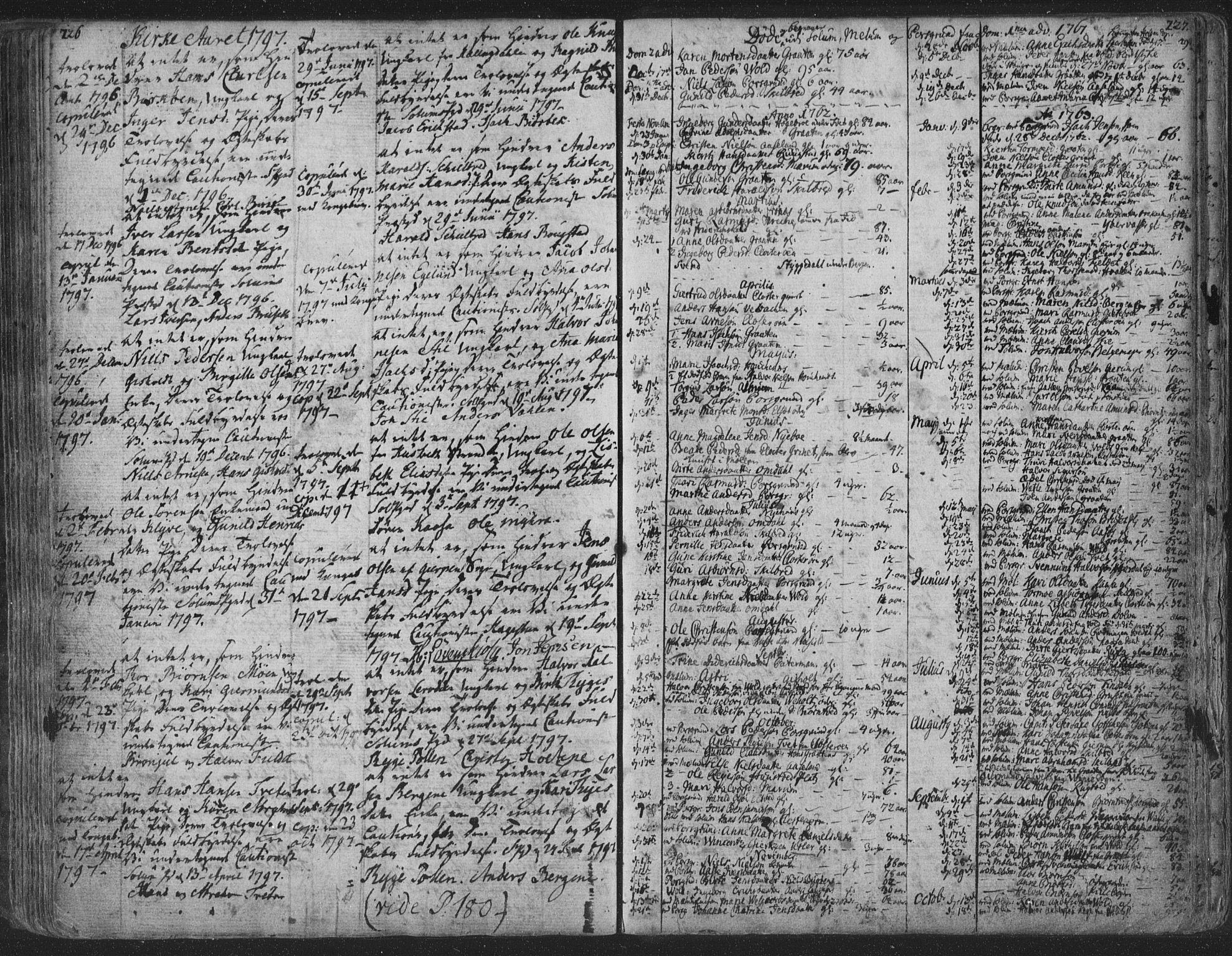 SAKO, Solum kirkebøker, F/Fa/L0003: Ministerialbok nr. I 3, 1761-1814, s. 226-227