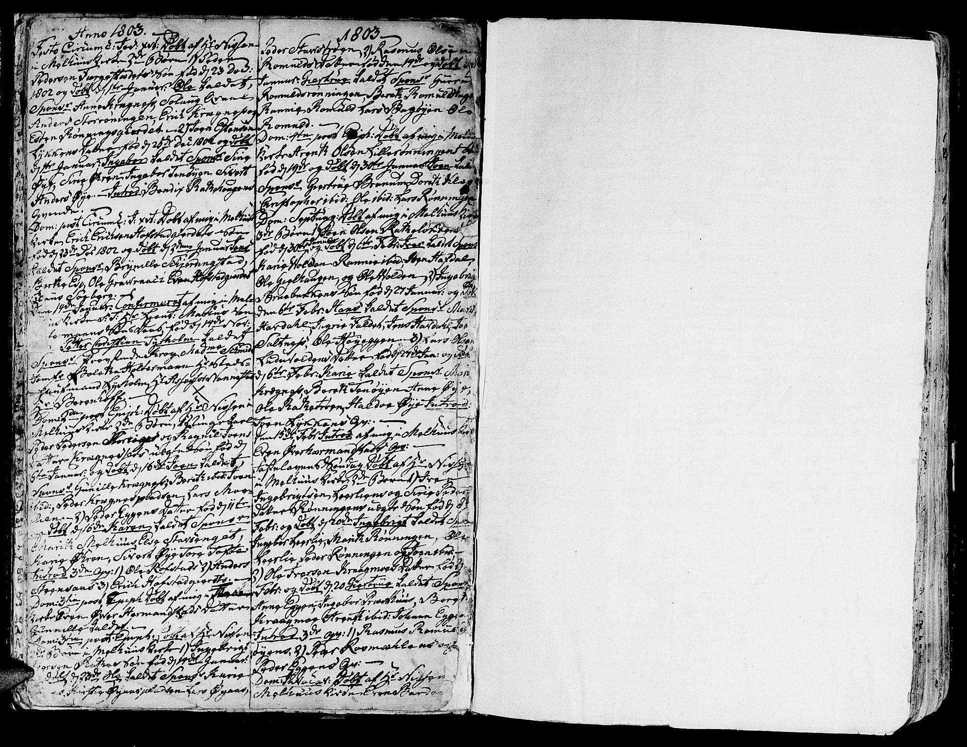 SAT, Ministerialprotokoller, klokkerbøker og fødselsregistre - Sør-Trøndelag, 691/L1061: Ministerialbok nr. 691A02 /1, 1768-1815, s. 22