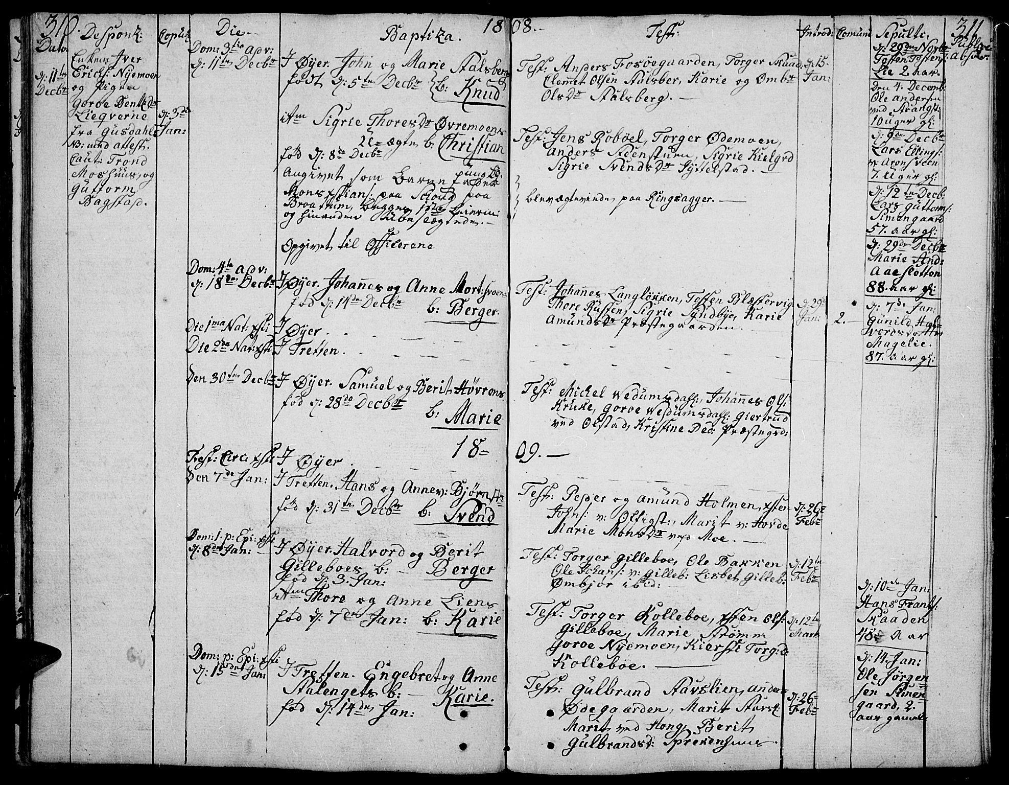 SAH, Øyer prestekontor, Ministerialbok nr. 3, 1784-1824, s. 310-311