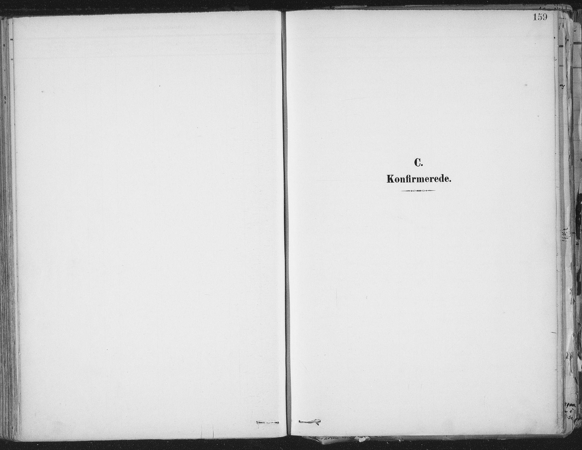 SAT, Ministerialprotokoller, klokkerbøker og fødselsregistre - Sør-Trøndelag, 603/L0167: Ministerialbok nr. 603A06, 1896-1932, s. 159