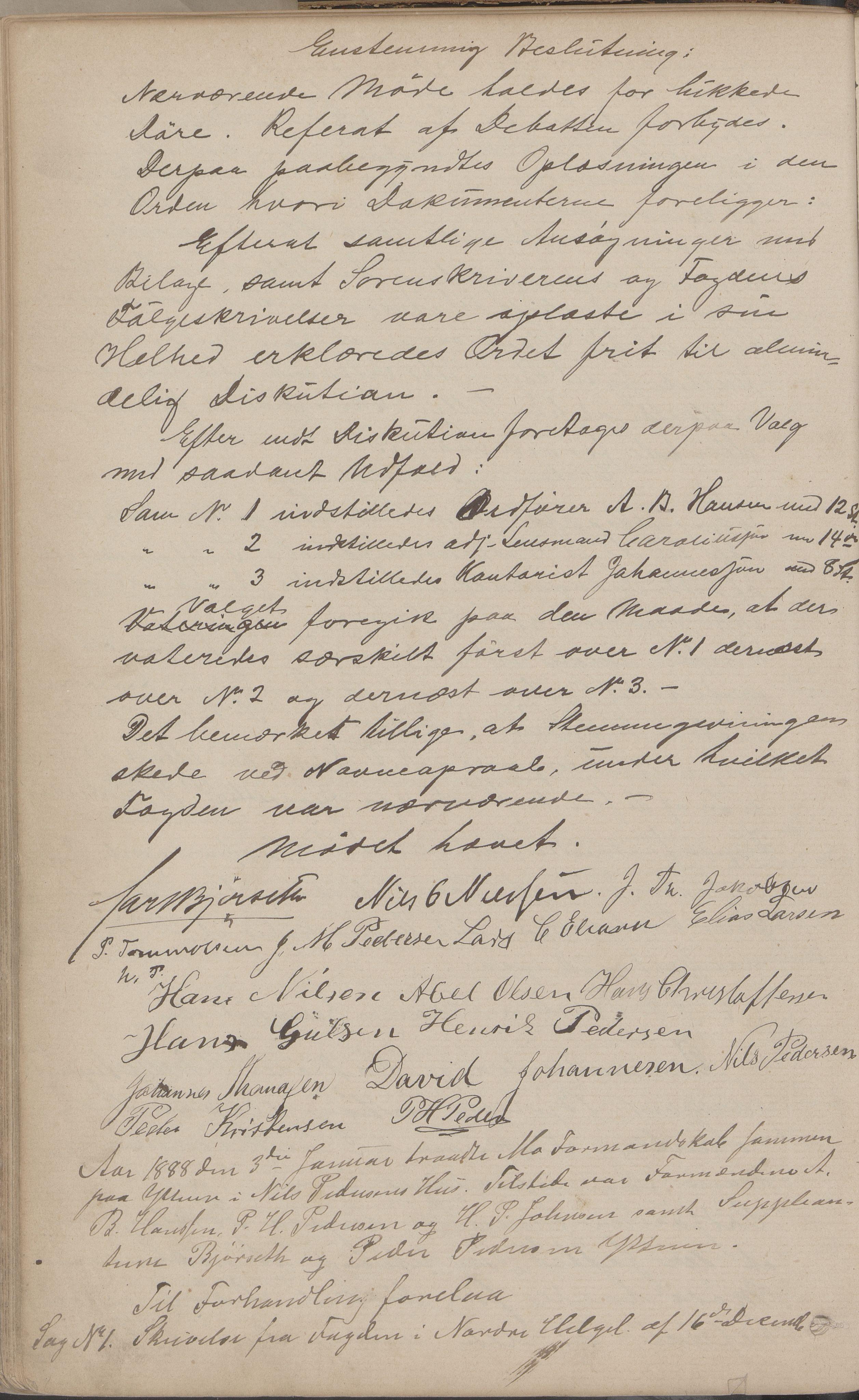 AIN, Mo kommune. Formannskapet, A/Aa/L0002: Møtebok, 1876-1891, s. 147b
